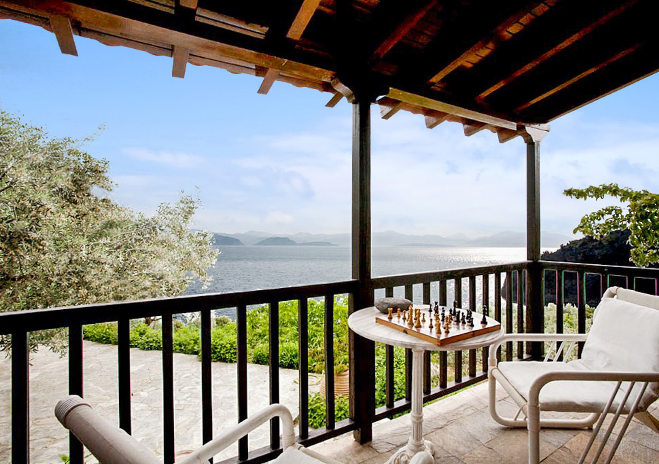 Ferienhaus Villa mit 6 Zimmern in Xiropigado mit herrlichem Meerblick, eingezäuntem Garten und W-LAN  (2201333), Xiropigado, , Peloponnes, Griechenland, Bild 6