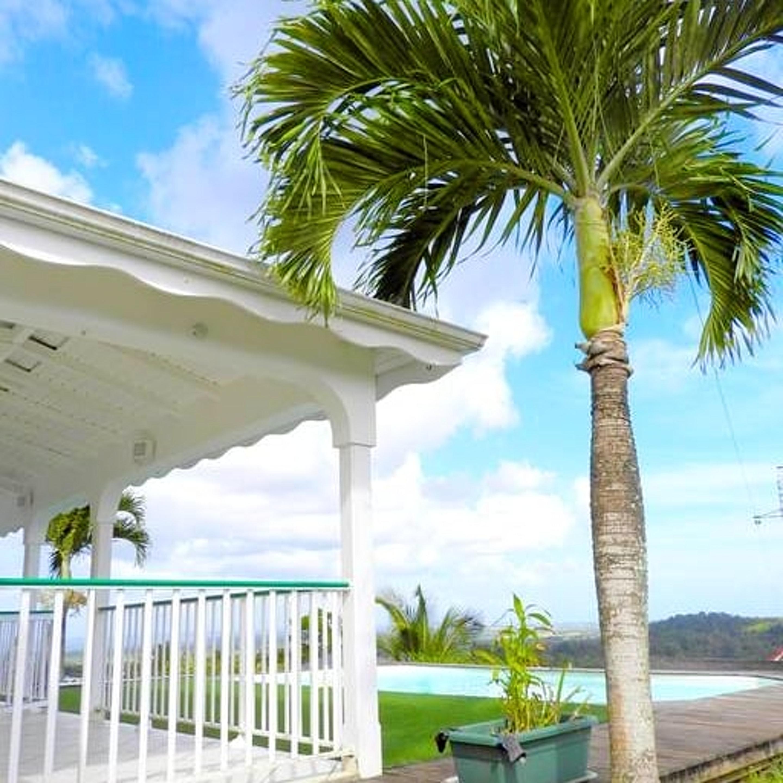 Villa mit 2 Schlafzimmern in Sainte-Rose mit herrl Villa in Guadeloupe