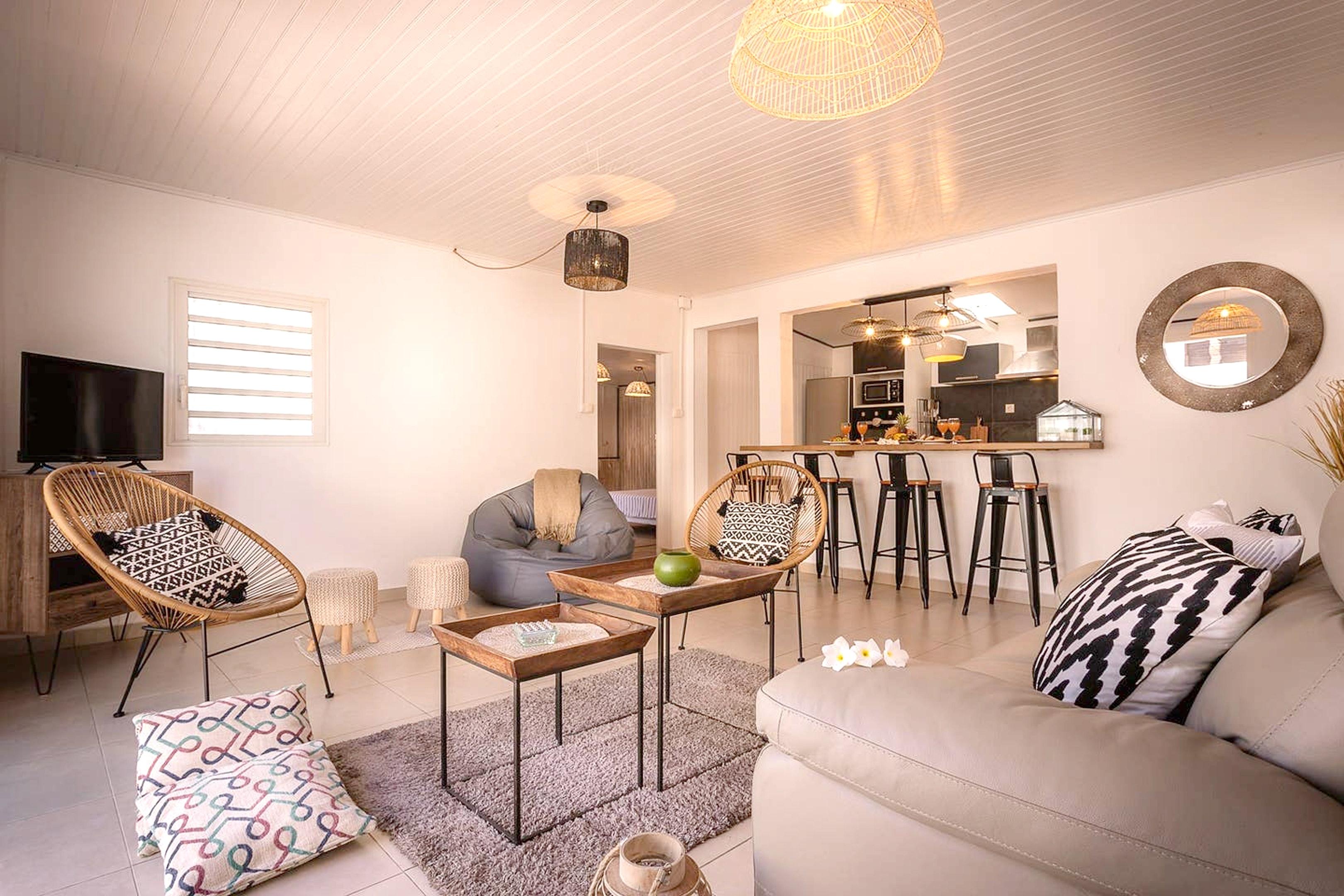 Haus mit 2 Schlafzimmern in Saint-Pierre  mit herr Ferienhaus in Afrika