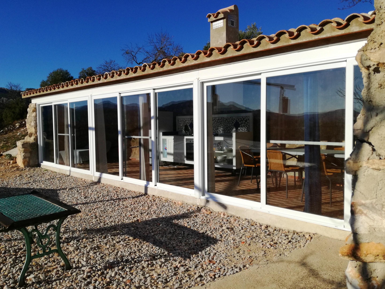 Ferienhaus Haus mit 3 Schlafzimmern in Rossell mit herrlichem Meerblick und eingezäuntem Garten - 35  (2202082), Rossell, Provinz Castellón, Valencia, Spanien, Bild 2