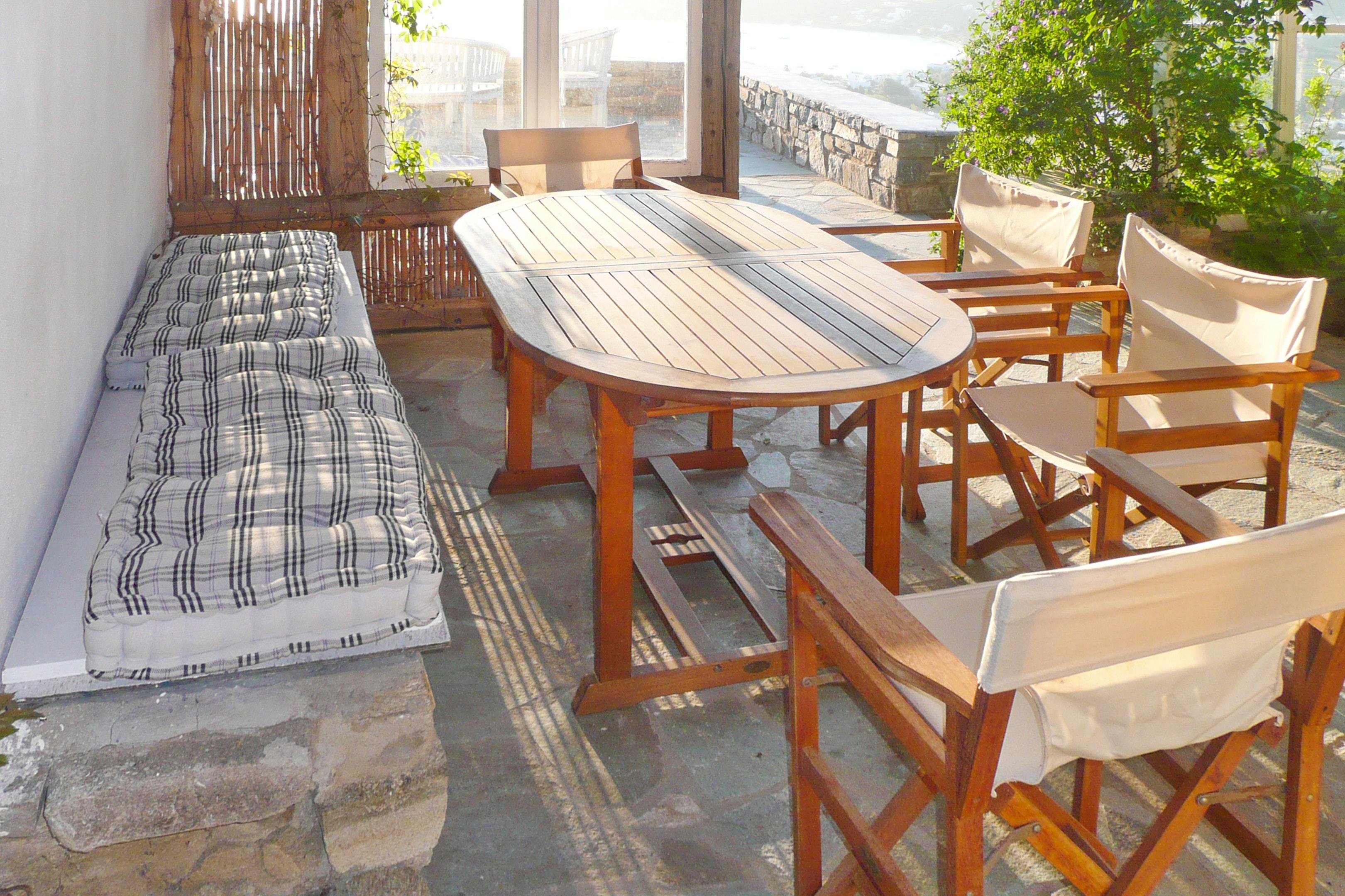 Holiday house Villa mit 3 Schlafzimmern in Paros mit herrlichem Meerblick, Pool und W-LAN - 1 km vom Str (2201537), Paros, Paros, Cyclades, Greece, picture 10