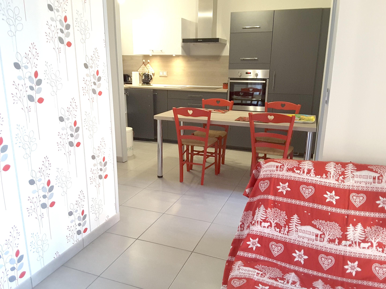 Appartement de vacances Wohnung mit einem Schlafzimmer in Métabief mit Pool und Balkon - 400 m vom Skigebiet entfe (2485992), Métabief, Doubs, Franche-Comté, France, image 1