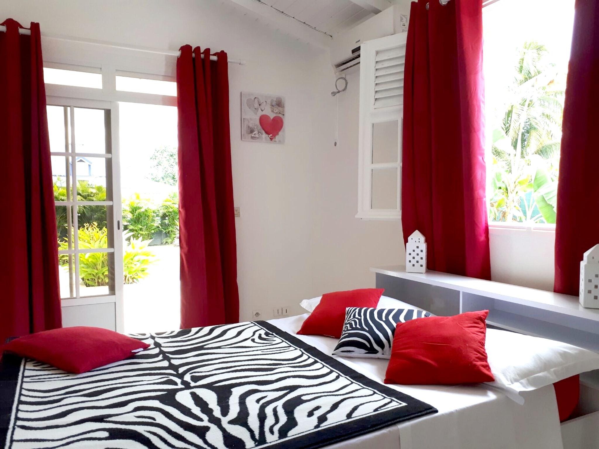 Studio in Ste Rose mit toller Aussicht auf die Ber Ferienwohnung in Guadeloupe