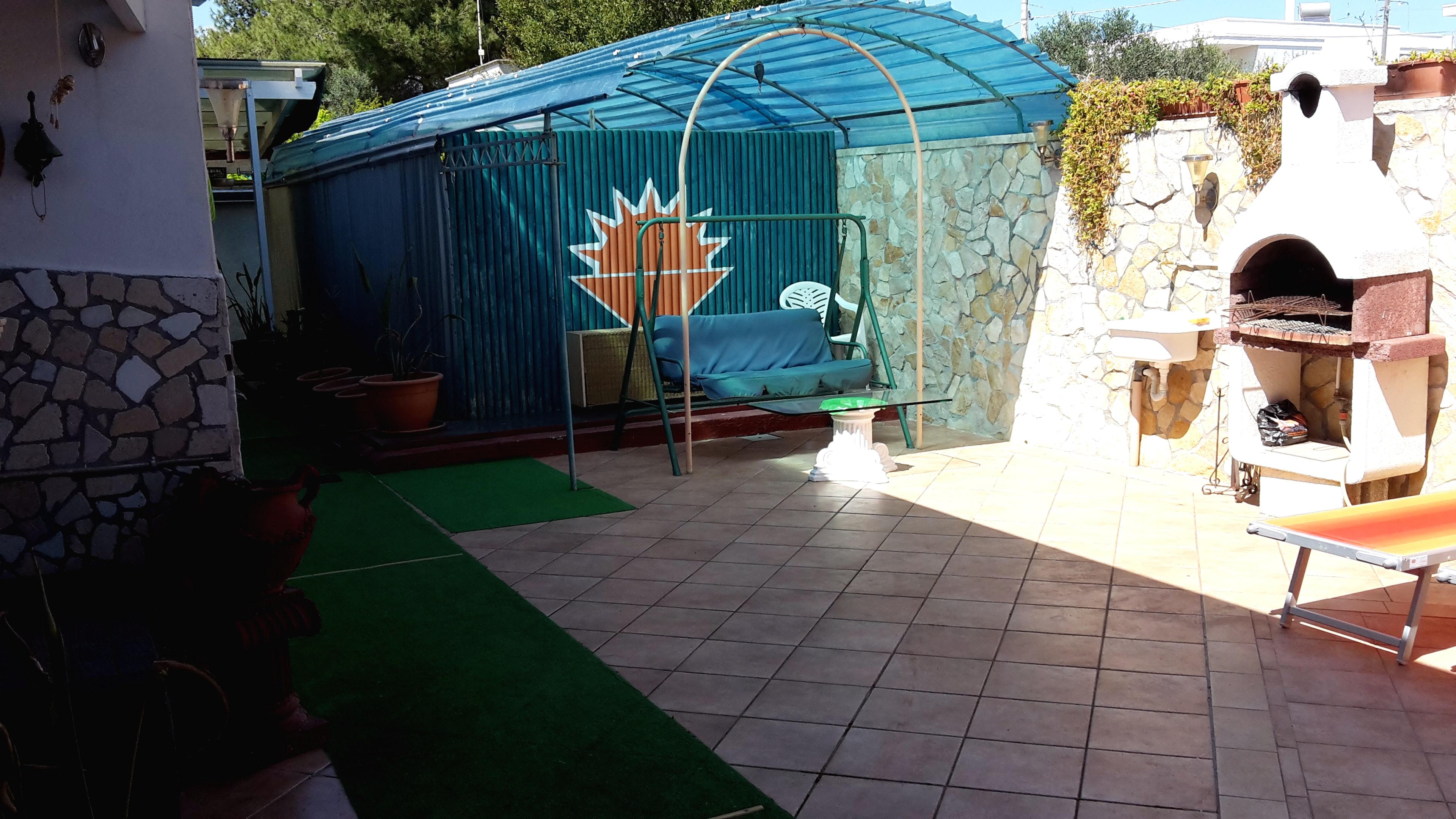 Ferienhaus Haus mit 2 Schlafzimmern in Porto Cesareo (Lecce) mit Pool, möbliertem Garten und W-LAN (2201032), Porto Cesareo, Lecce, Apulien, Italien, Bild 6