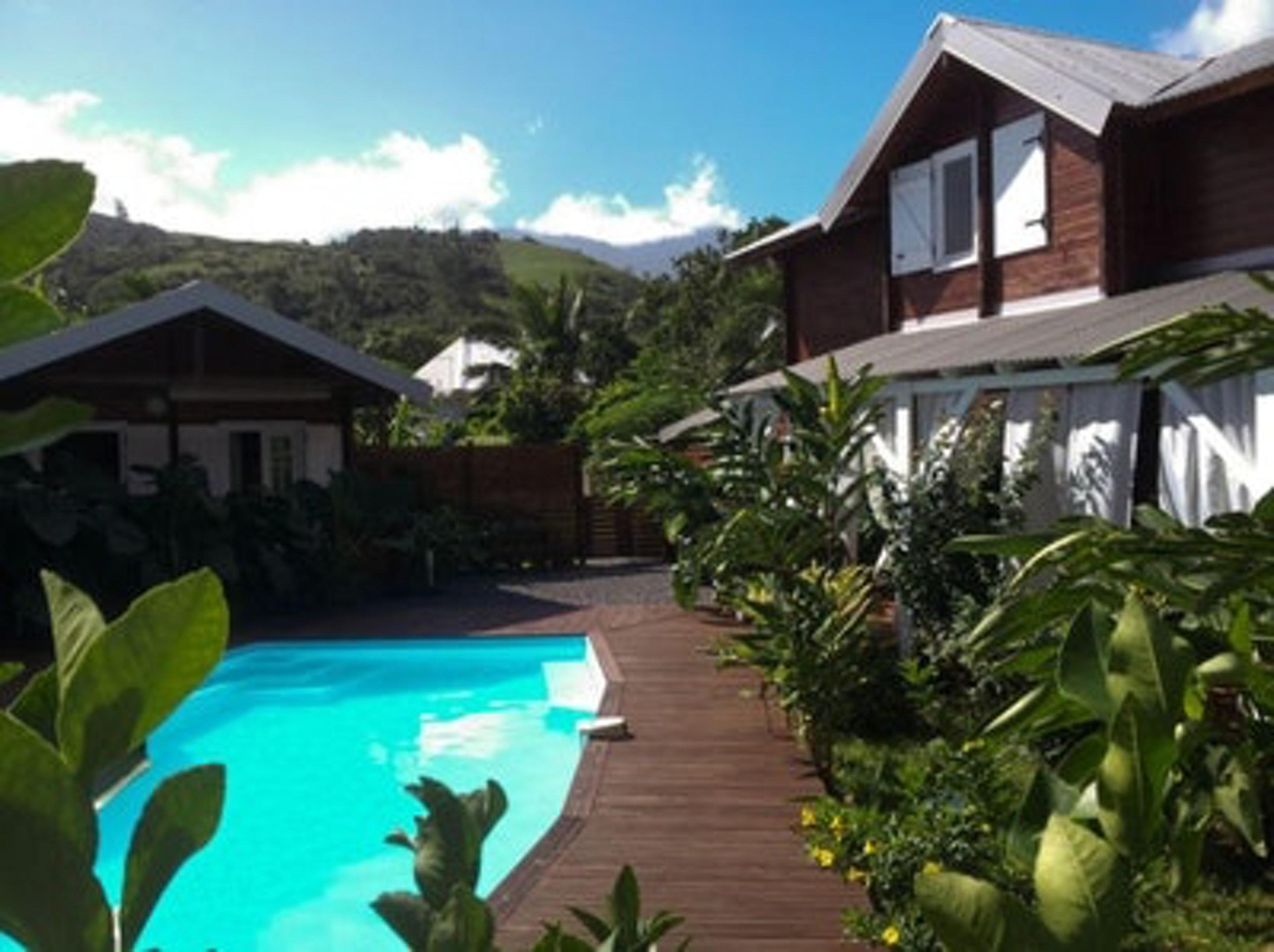 Bungalow mit 2 Schlafzimmern in Vincendo, Saint-Jo Bungalow in Afrika