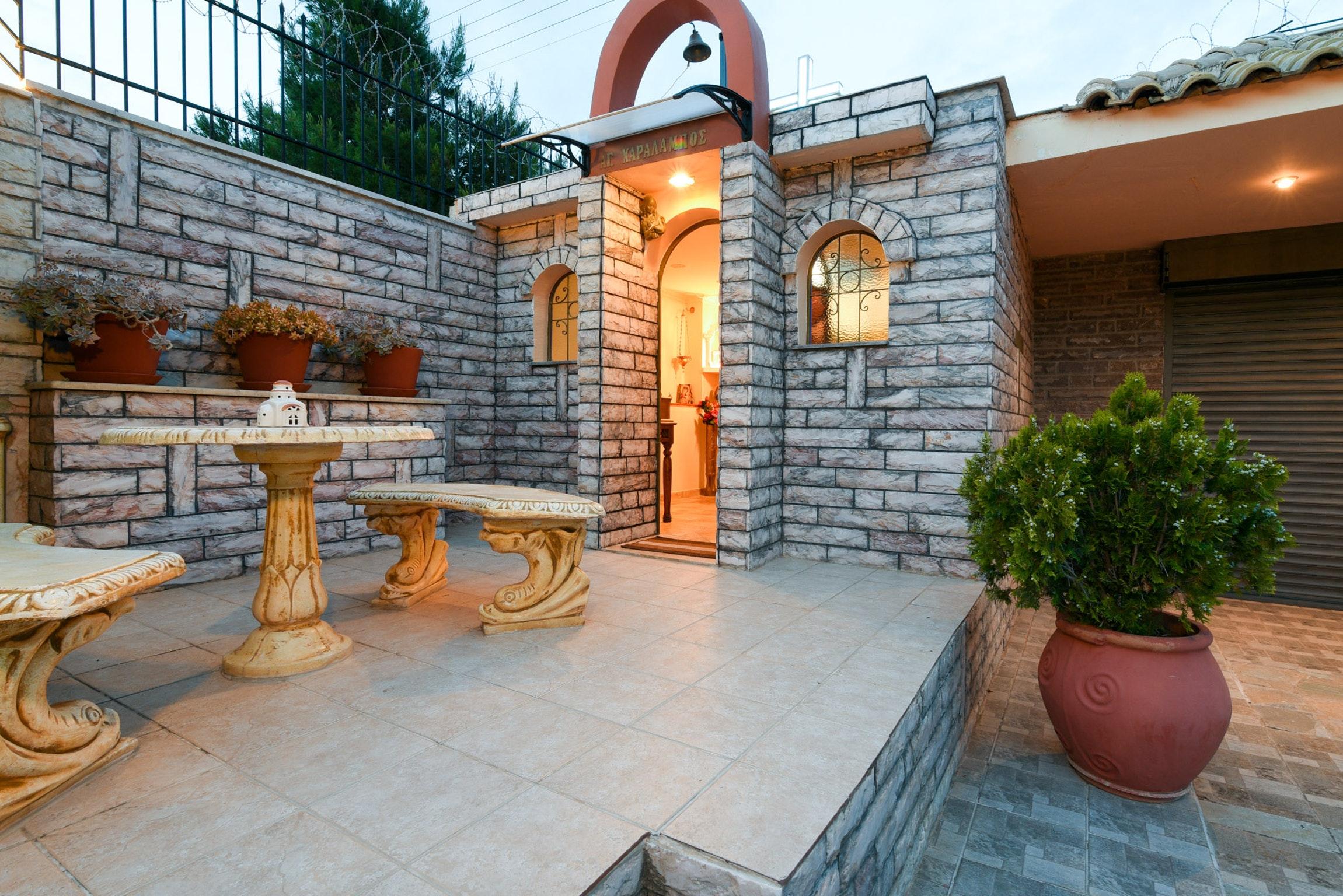 Holiday house Villa mit 5 Schlafzimmern in Kitsi mit privatem Pool, eingezäuntem Garten und W-LAN (2339398), Koropion, , Attica, Greece, picture 48