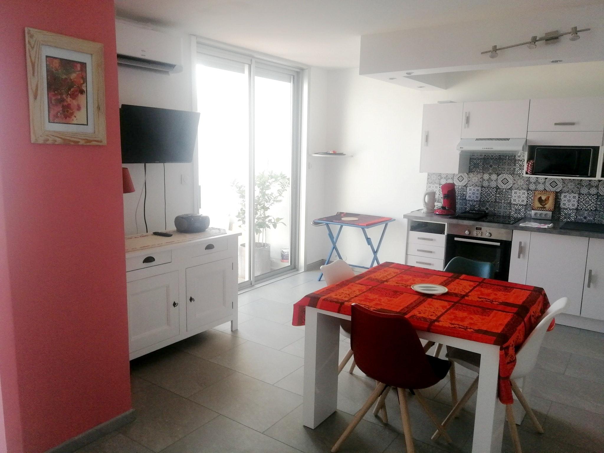 Holiday apartment Wohnung mit 2 Schlafzimmern in La Grande-Motte mit herrlichem Meerblick und möblierter Ter (2535444), La Grande Motte, Mediterranean coast Hérault, Languedoc-Roussillon, France, picture 3