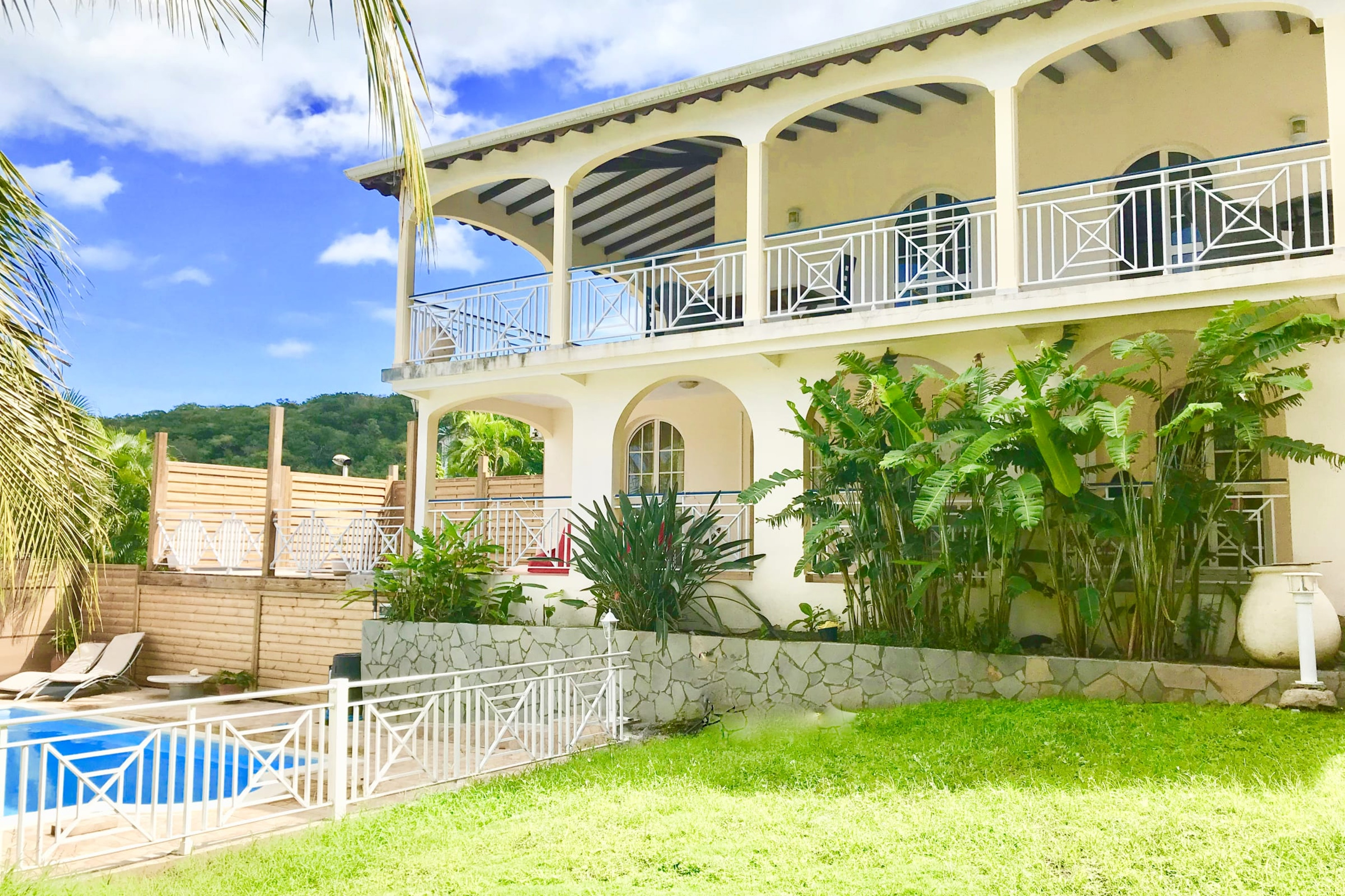 Villa mit 5 Schlafzimmern in Deshaies mit herrlich Villa in Mittelamerika und Karibik