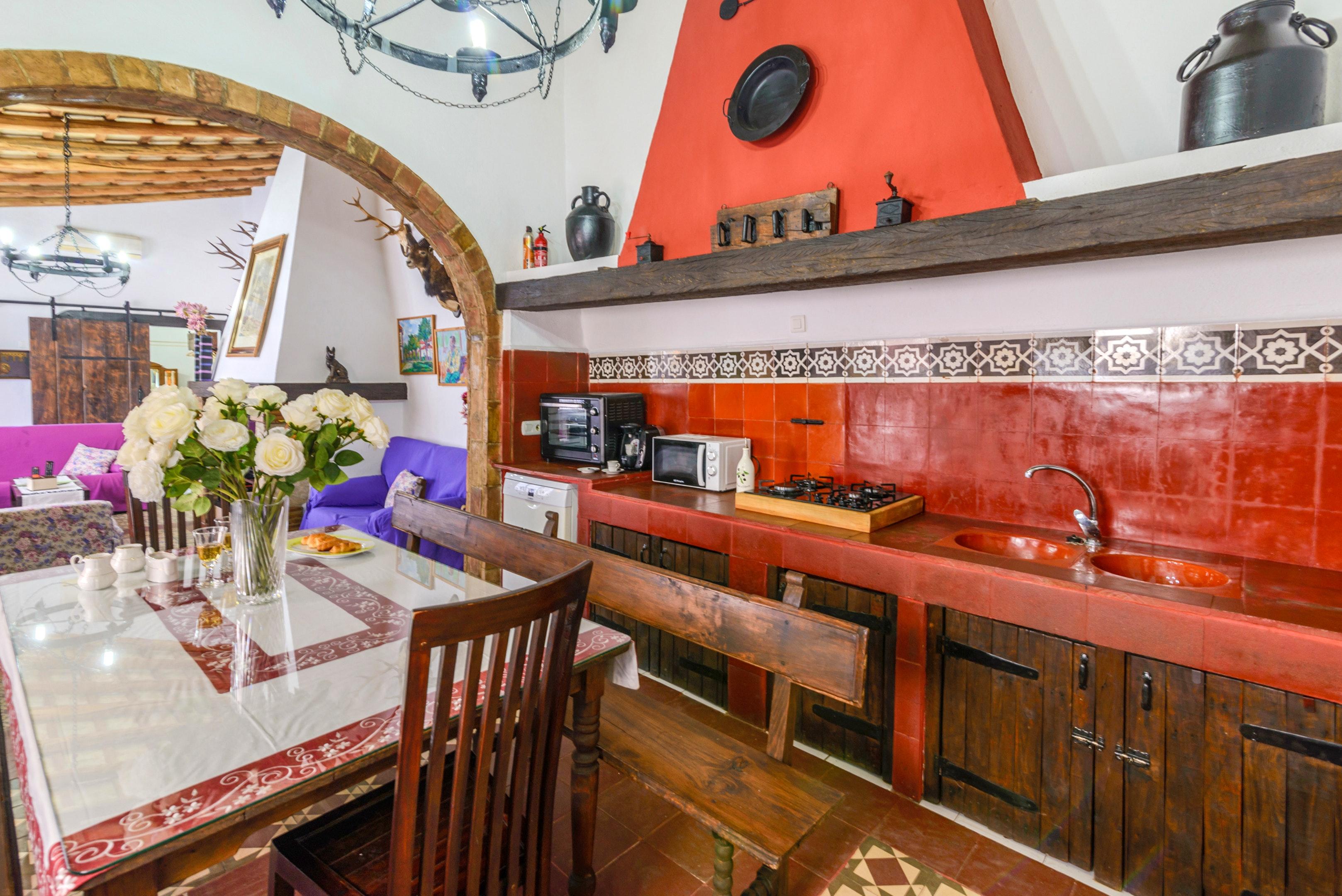 Ferienhaus Villa mit 3 Schlafzimmern in Peñaflor mit privatem Pool, eingezäuntem Garten und W-LAN (2208249), Peñaflor, Sevilla, Andalusien, Spanien, Bild 46