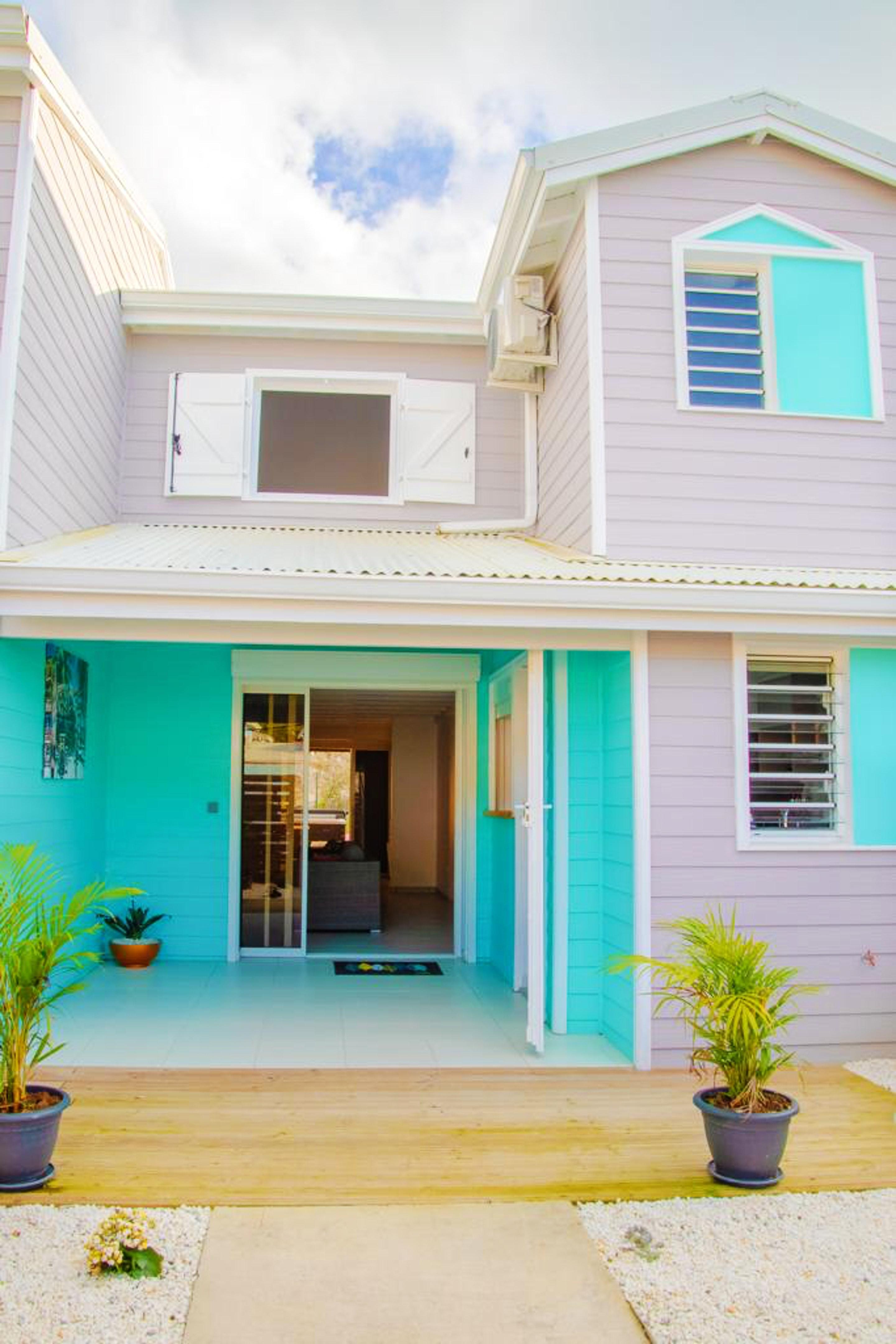 Haus mit 2 Schlafzimmern in Les Trois-Îlets mit eingezäuntem Garten und W-LAN - 2 km vom Strand entfernt