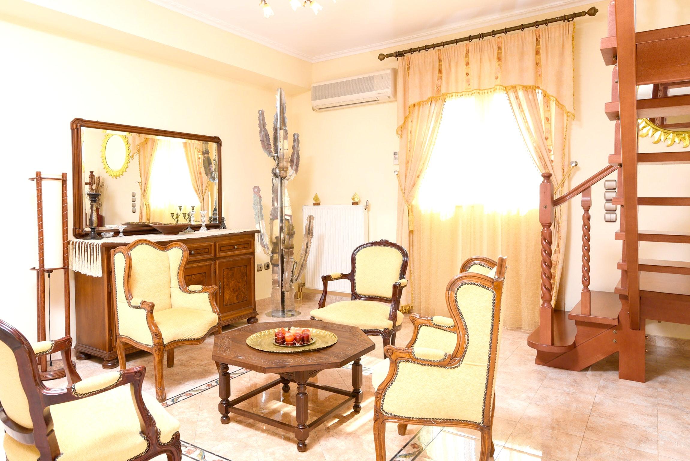 Holiday house Villa mit 5 Schlafzimmern in Kitsi mit privatem Pool, eingezäuntem Garten und W-LAN (2339398), Koropion, , Attica, Greece, picture 37