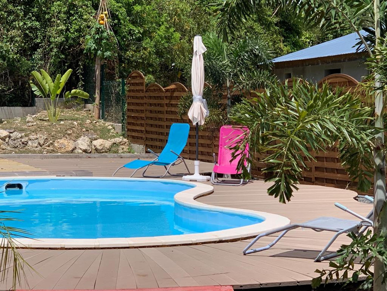 Studio in Le Gosier mit Pool, eingezäuntem Ga Ferienwohnung in Guadeloupe