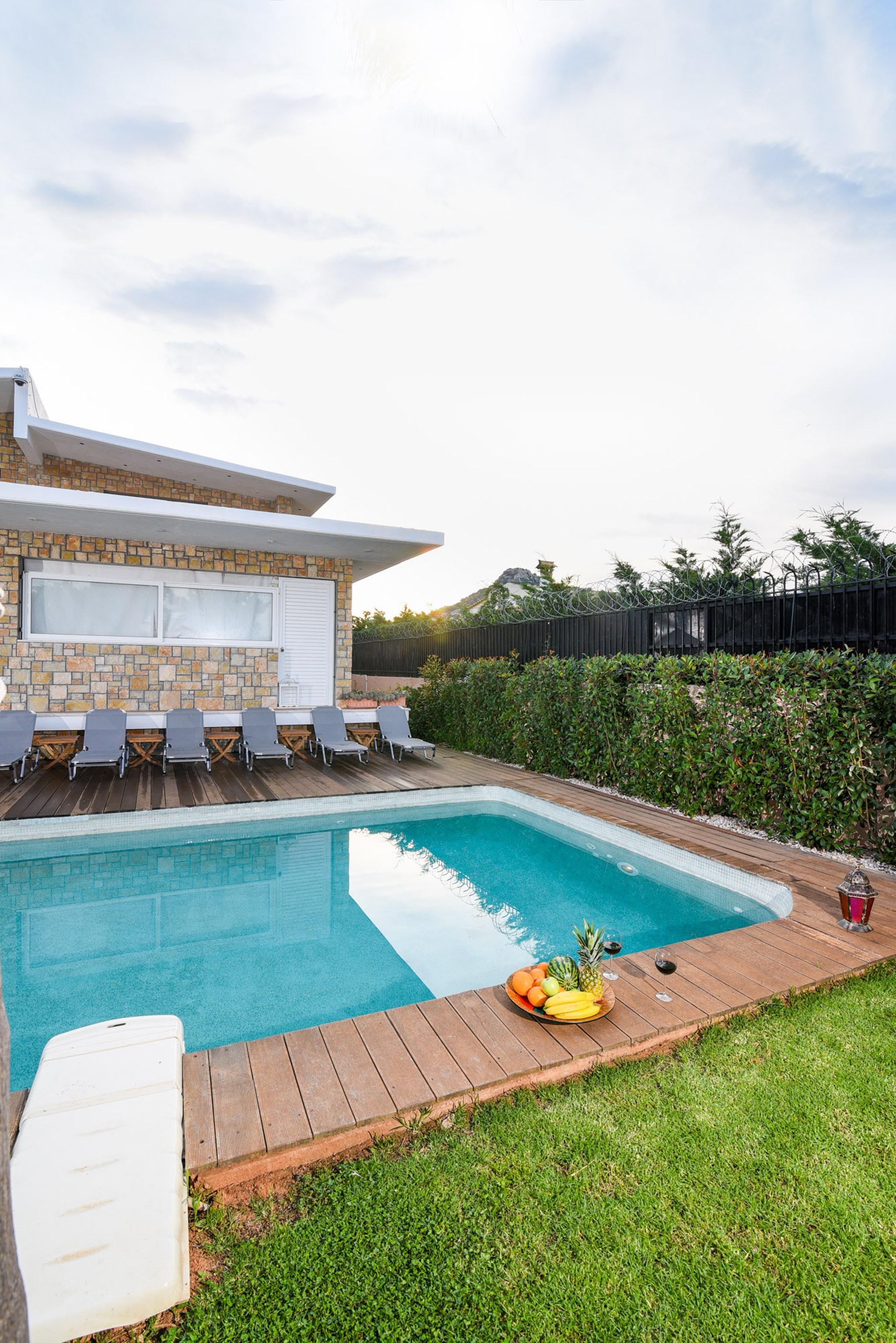 Holiday house Villa mit 5 Schlafzimmern in Kitsi mit privatem Pool, eingezäuntem Garten und W-LAN (2339398), Koropion, , Attica, Greece, picture 41