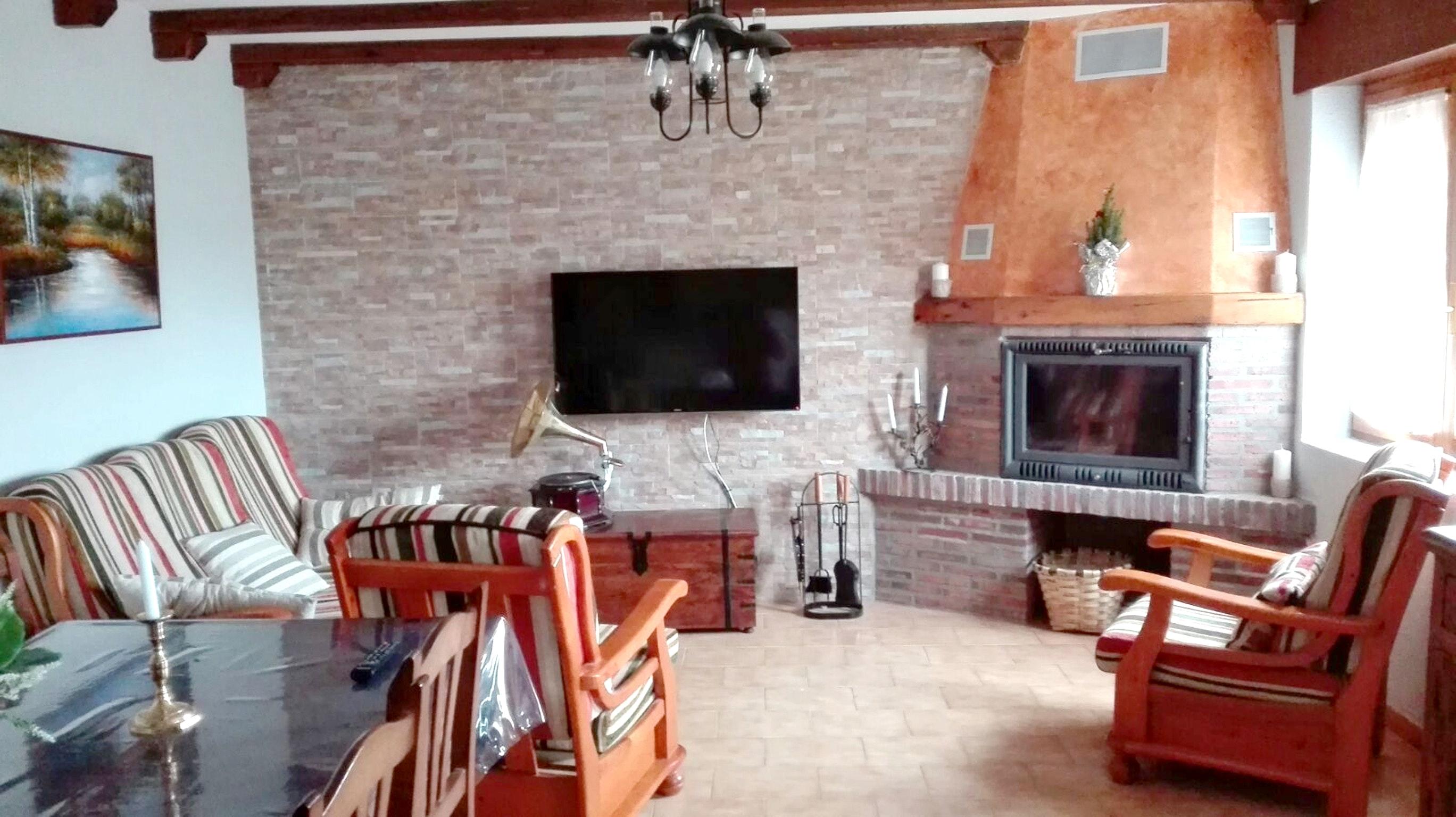 Ferienhaus Haus mit 3 Schlafzimmern in Peral de Arlanza mit eingezäuntem Garten (2201640), Peral de Arlanza, Palencia, Kastilien-León, Spanien, Bild 4