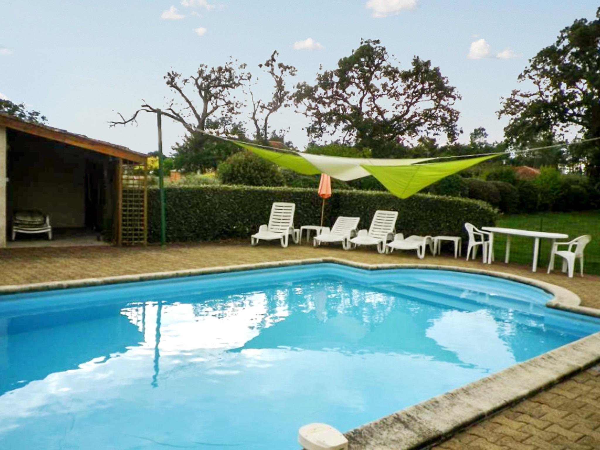 Ferienhaus Villa mit 4 Zimmern in Trensacq mit privatem Pool und möbliertem Garten - 45 km vom Strand (2202366), Trensacq, Landes, Aquitanien, Frankreich, Bild 24
