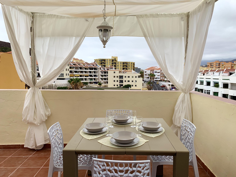 Appartement de vacances Wohnung mit 2 Schlafzimmern in Los Cristianos mit toller Aussicht auf die Berge, eingezäun (2202481), Los Cristianos, Ténérife, Iles Canaries, Espagne, image 17