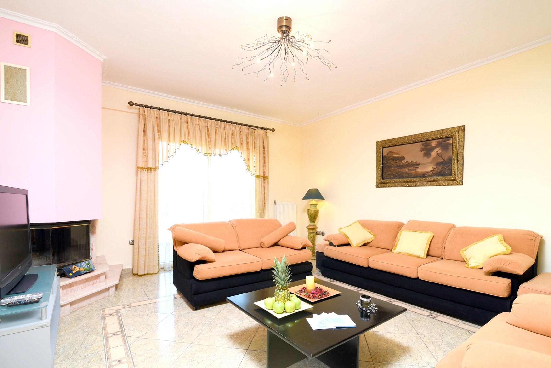 Holiday house Villa mit 5 Schlafzimmern in Kitsi mit privatem Pool, eingezäuntem Garten und W-LAN (2339398), Koropion, , Attica, Greece, picture 5