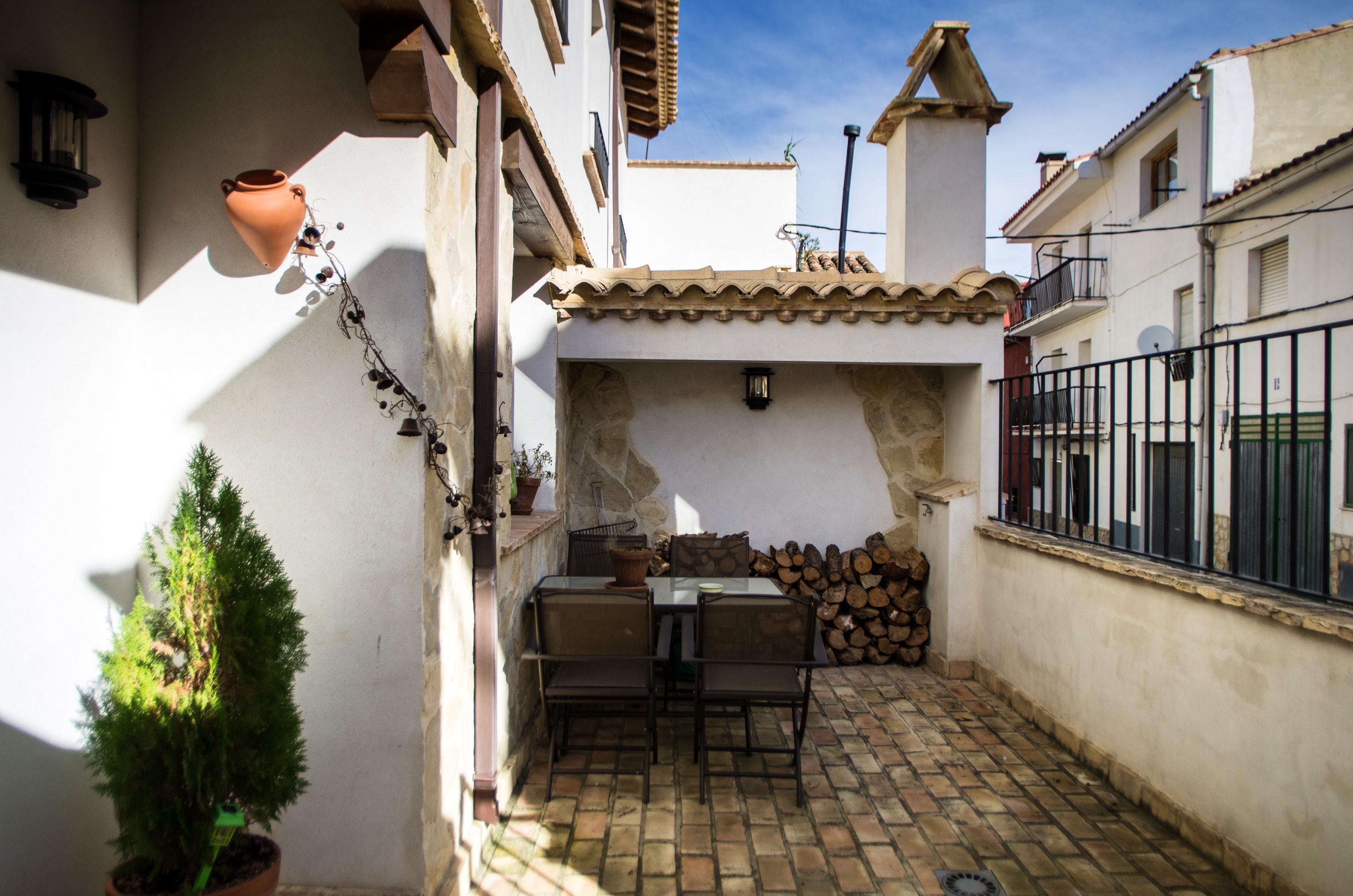 Ferienhaus Haus mit 3 Schlafzimmern in Talayuelas mit toller Aussicht auf die Berge, möblierter Terra (2202603), Talayuelas, Cuenca, Kastilien-La Mancha, Spanien, Bild 4
