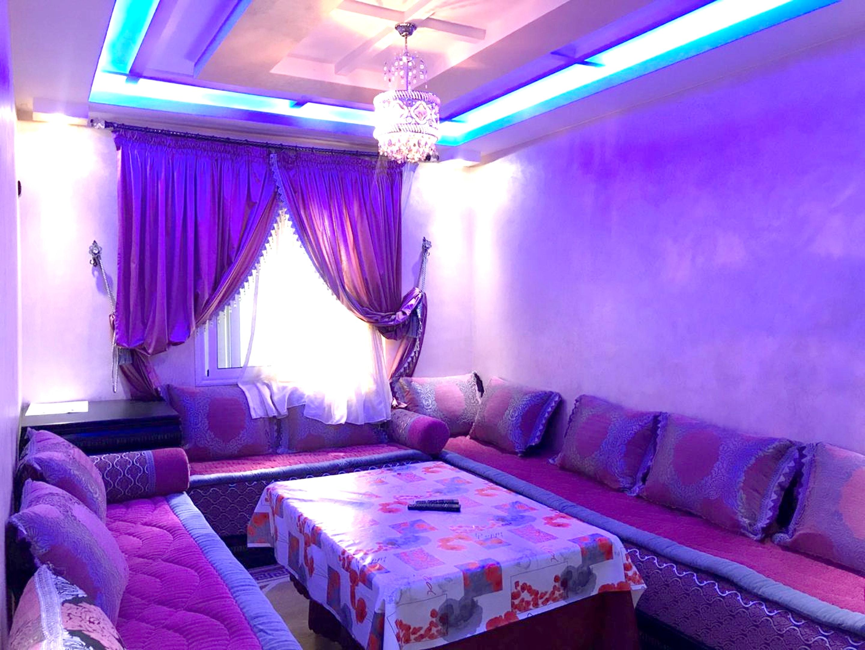 Wohnung mit 2 Schlafzimmern in Agadir mit toller A Ferienwohnung in Afrika