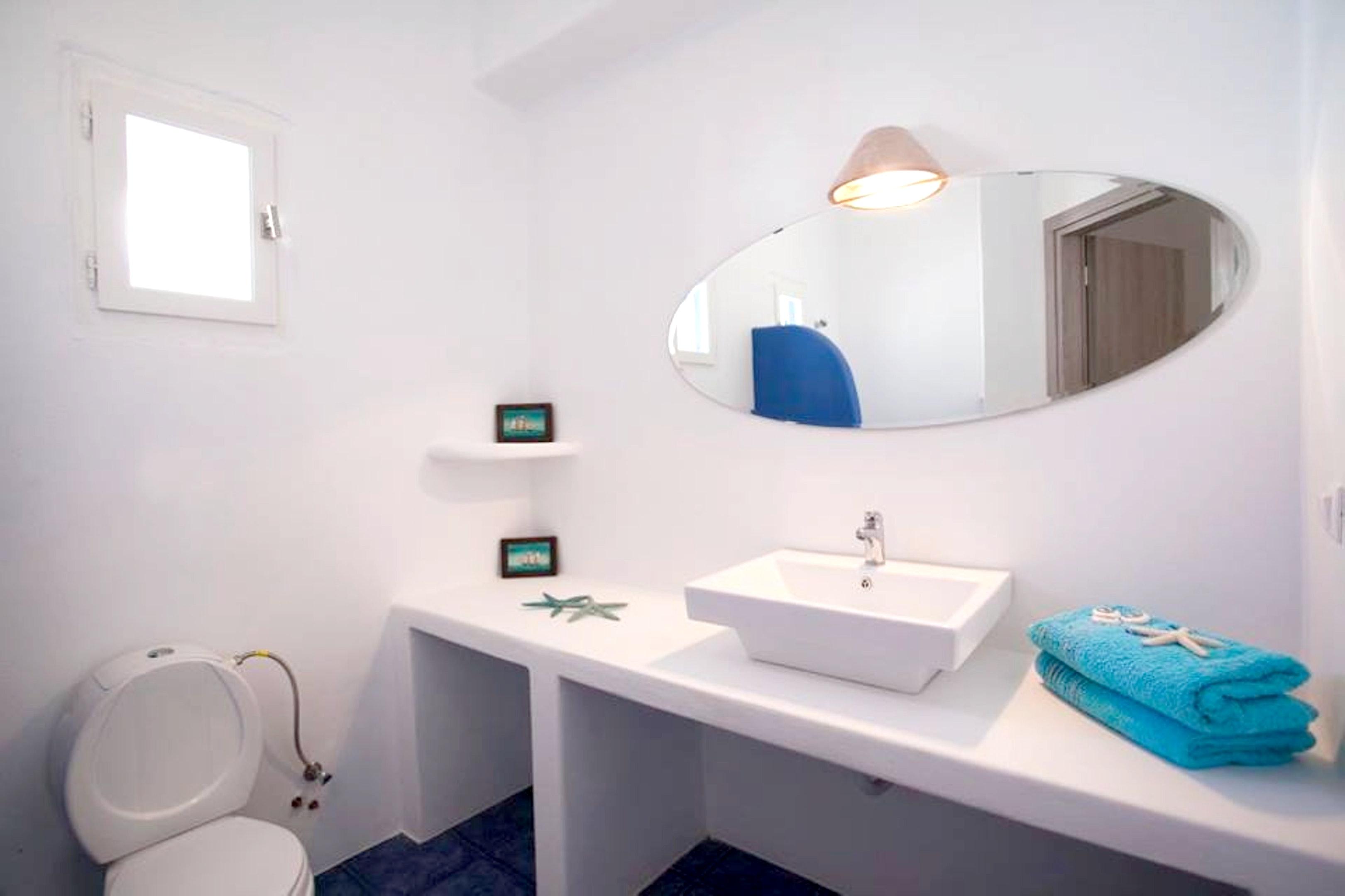 Holiday apartment Wohnung mit 2 Schlafzimmern in Paros mit herrlichem Meerblick, möbliertem Balkon und W-LAN (2201769), Paros, Paros, Cyclades, Greece, picture 5