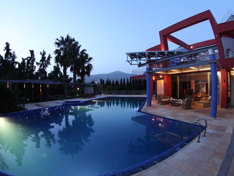 Ferienhaus Villa mit 4 Schlafzimmern in Eretria mit herrlichem Meerblick, privatem Pool, eingezäuntem (2201213), Eretria Evia, , Euböa, Griechenland, Bild 30