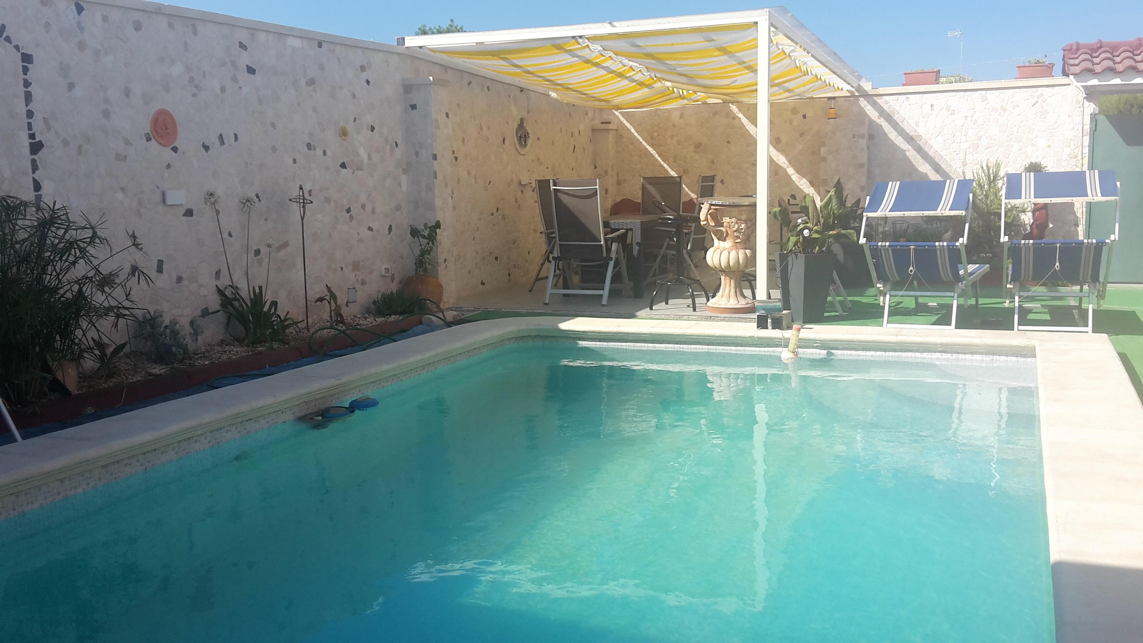 Ferienhaus Haus mit 2 Schlafzimmern in Porto Cesareo (Lecce) mit Pool, möbliertem Garten und W-LAN (2201032), Porto Cesareo, Lecce, Apulien, Italien, Bild 3