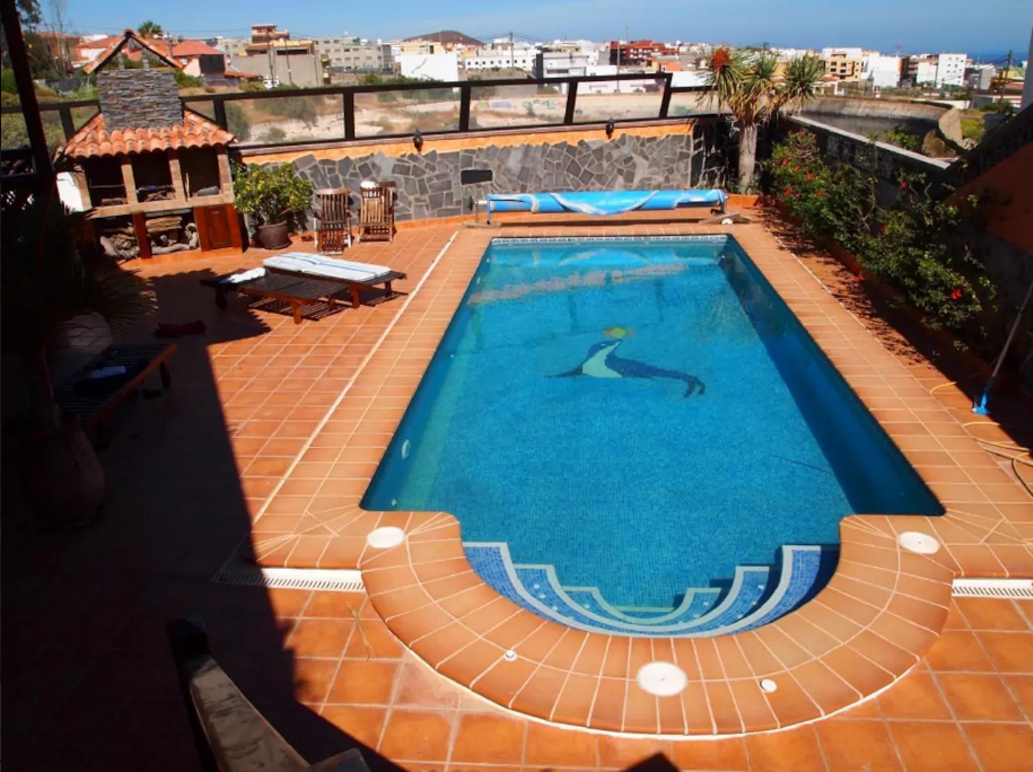 Holiday house Haus mit 5 Zimmern in Granadilla mit toller Aussicht auf die Berge, privatem Pool, eingezä (2202646), San Isidro, Tenerife, Canary Islands, Spain, picture 1