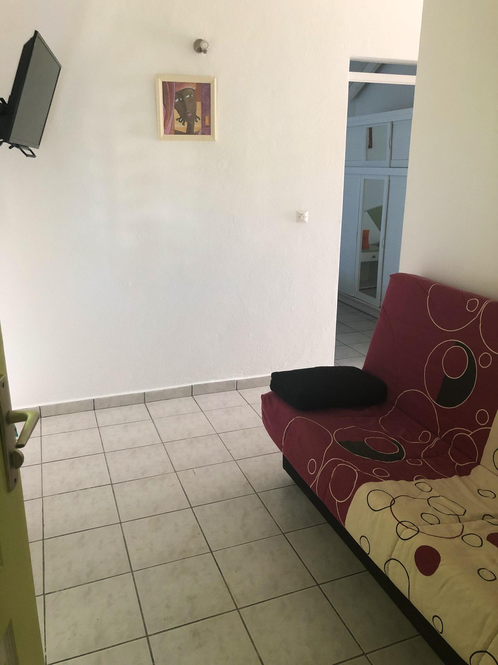 Wohnung mit 2 Schlafzimmern in Le Moule mit eingez Ferienwohnung in Guadeloupe