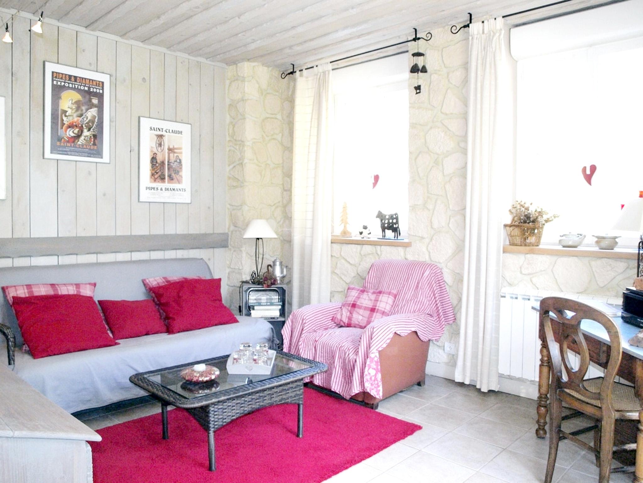 Maison de vacances Haus mit 2 Schlafzimmern in Villard-Saint-Sauveur mit toller Aussicht auf die Berge und ei (2704040), Villard sur Bienne, Jura, Franche-Comté, France, image 4