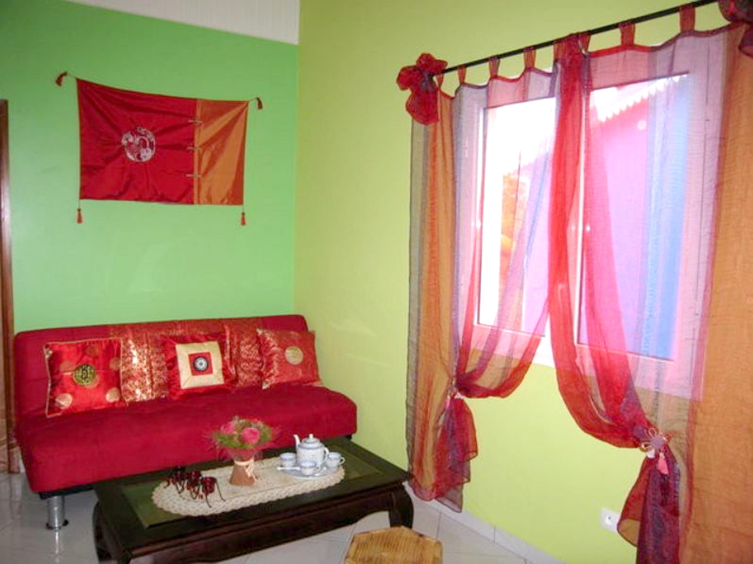 Haus mit einem Schlafzimmer in Saint Benoit mit to Ferienhaus in Reunion