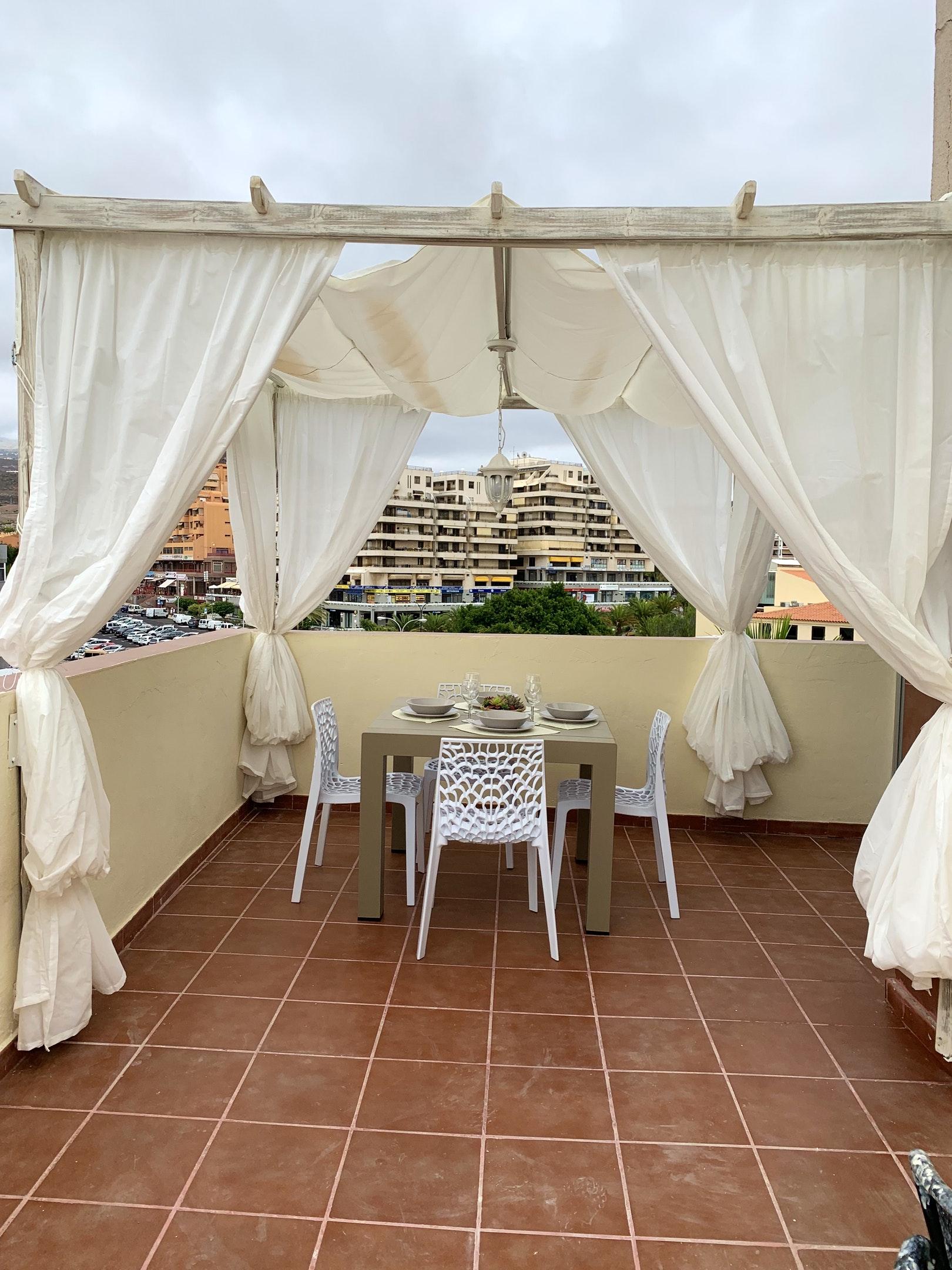 Appartement de vacances Wohnung mit 2 Schlafzimmern in Los Cristianos mit toller Aussicht auf die Berge, eingezäun (2202481), Los Cristianos, Ténérife, Iles Canaries, Espagne, image 7