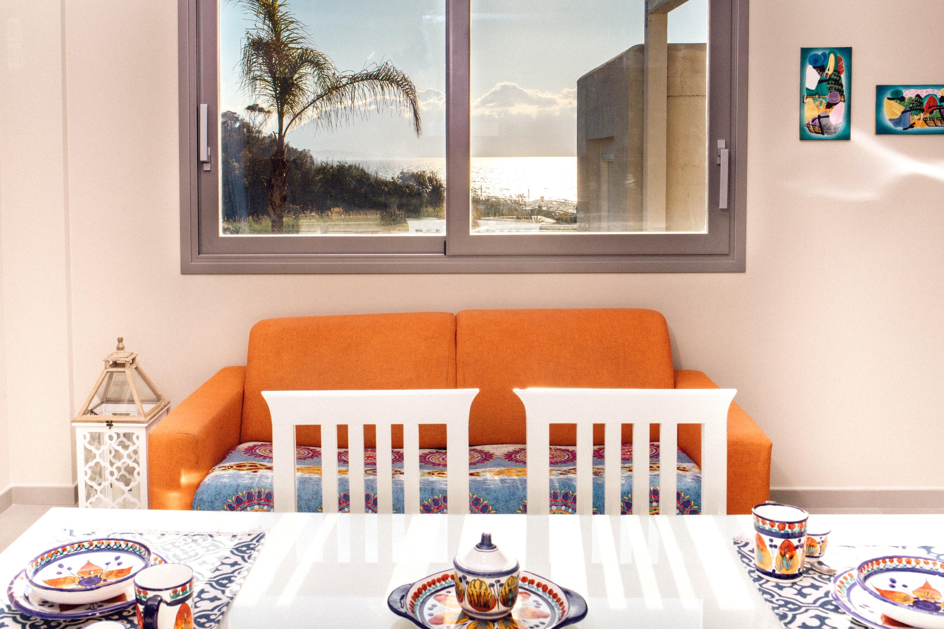 Holiday apartment Wohnung mit einem Schlafzimmer in Balestrate mit herrlichem Meerblick, eingezäuntem Garten (2635382), Balestrate, Palermo, Sicily, Italy, picture 2