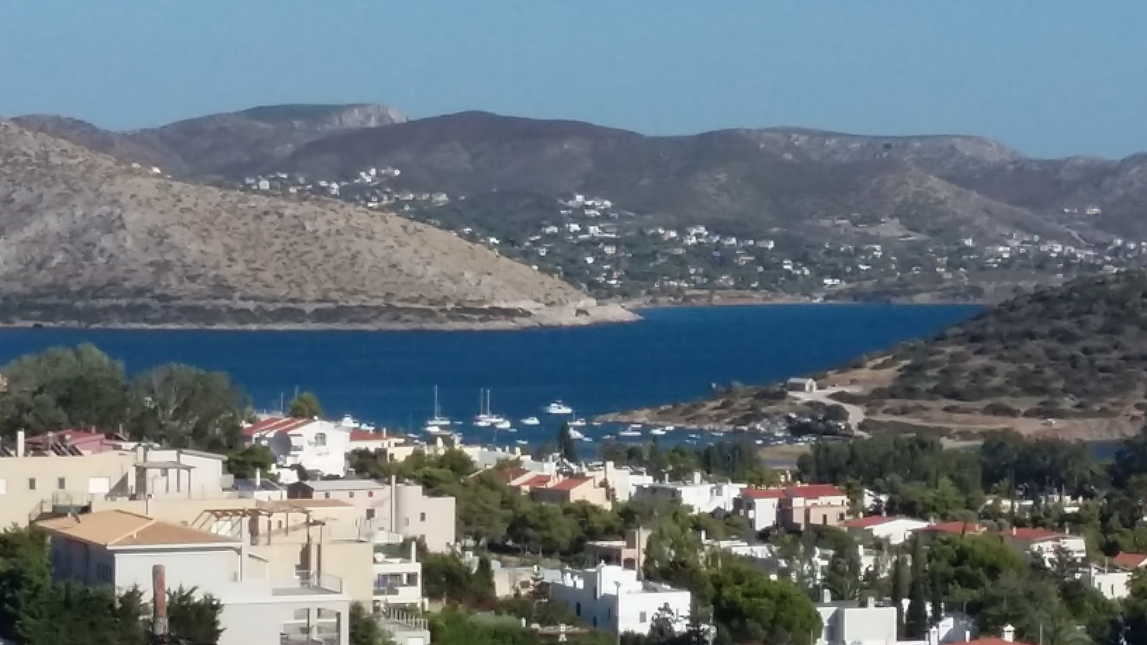 Holiday house Haus mit 3 Schlafzimmern in Anavissos mit herrlichem Meerblick, möbliertem Balkon und W-LA (2333555), Thimari, , Attica, Greece, picture 11