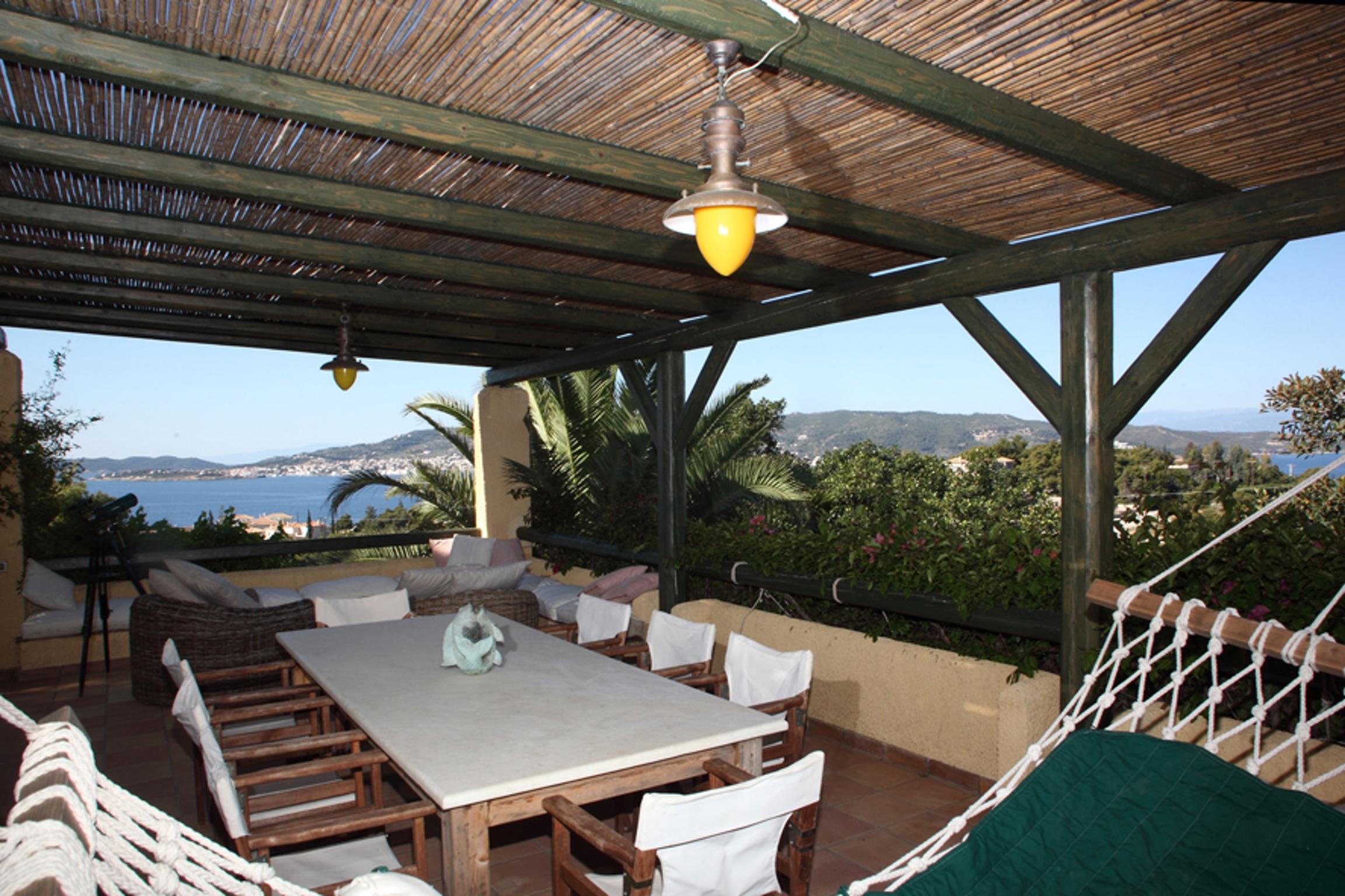 Ferienhaus Villa mit 4 Zimmern in Kosta mit herrlichem Meerblick, privatem Pool, eingezäuntem Garten  (2271451), Kosta (GR), , Peloponnes, Griechenland, Bild 15