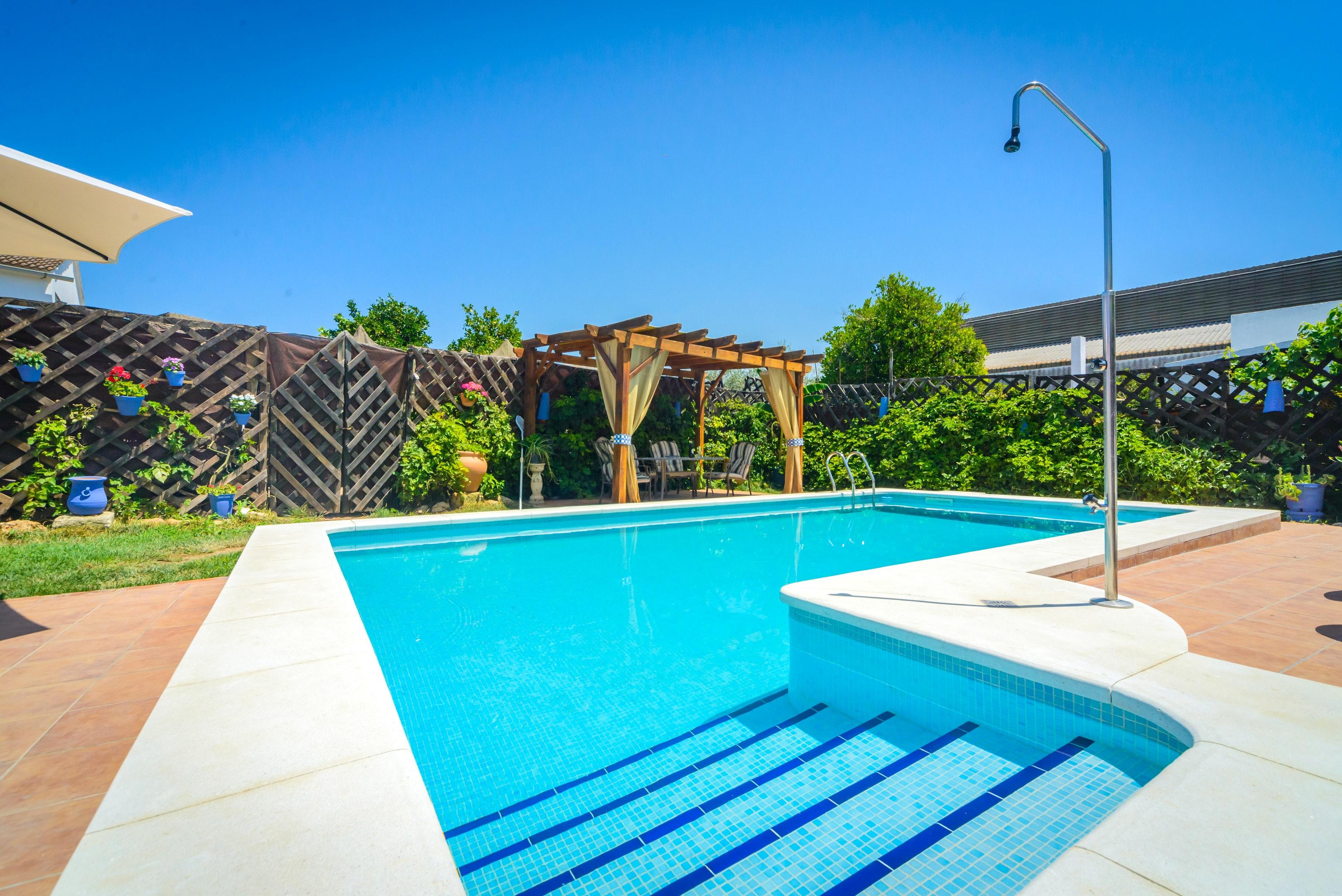 Ferienhaus Villa mit 3 Schlafzimmern in Peñaflor mit privatem Pool, eingezäuntem Garten und W-LAN (2208249), Peñaflor, Sevilla, Andalusien, Spanien, Bild 2