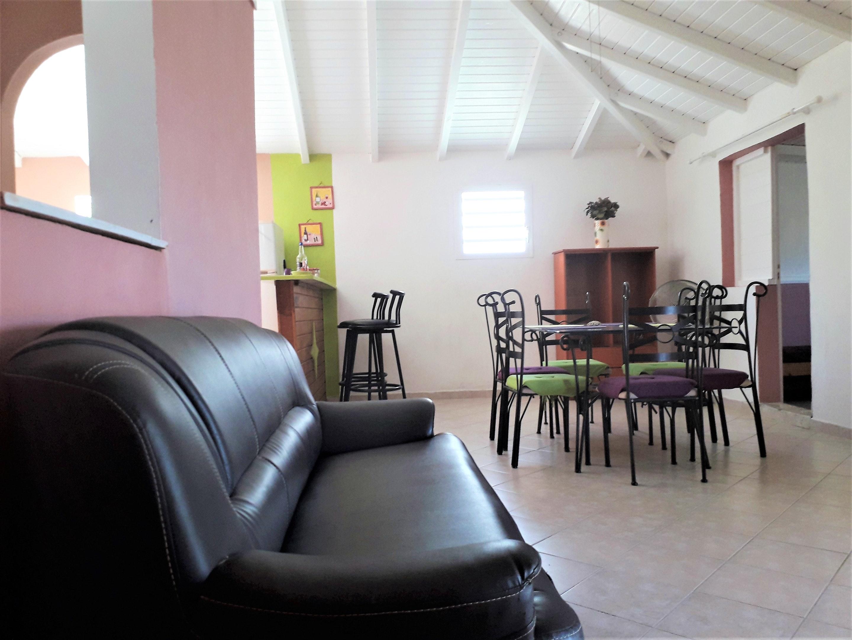 Wohnung mit 2 Schlafzimmern in Saint-Franço Ferienwohnung in Guadeloupe