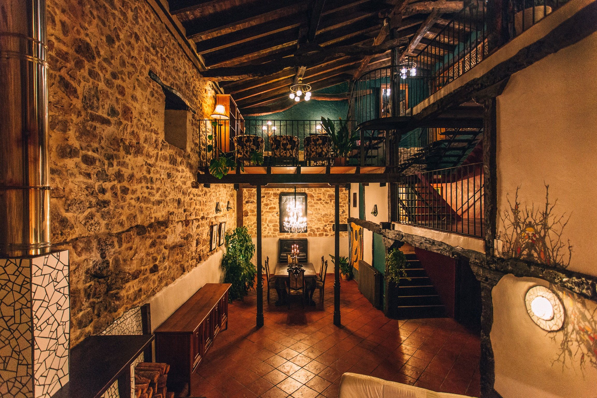 Ferienhaus Haus mit 5 Zimmern in Fuenteodra mit toller Aussicht auf die Berge, eingezäuntem Garten un (2211142), Fuenteodra, Burgos, Kastilien-León, Spanien, Bild 43