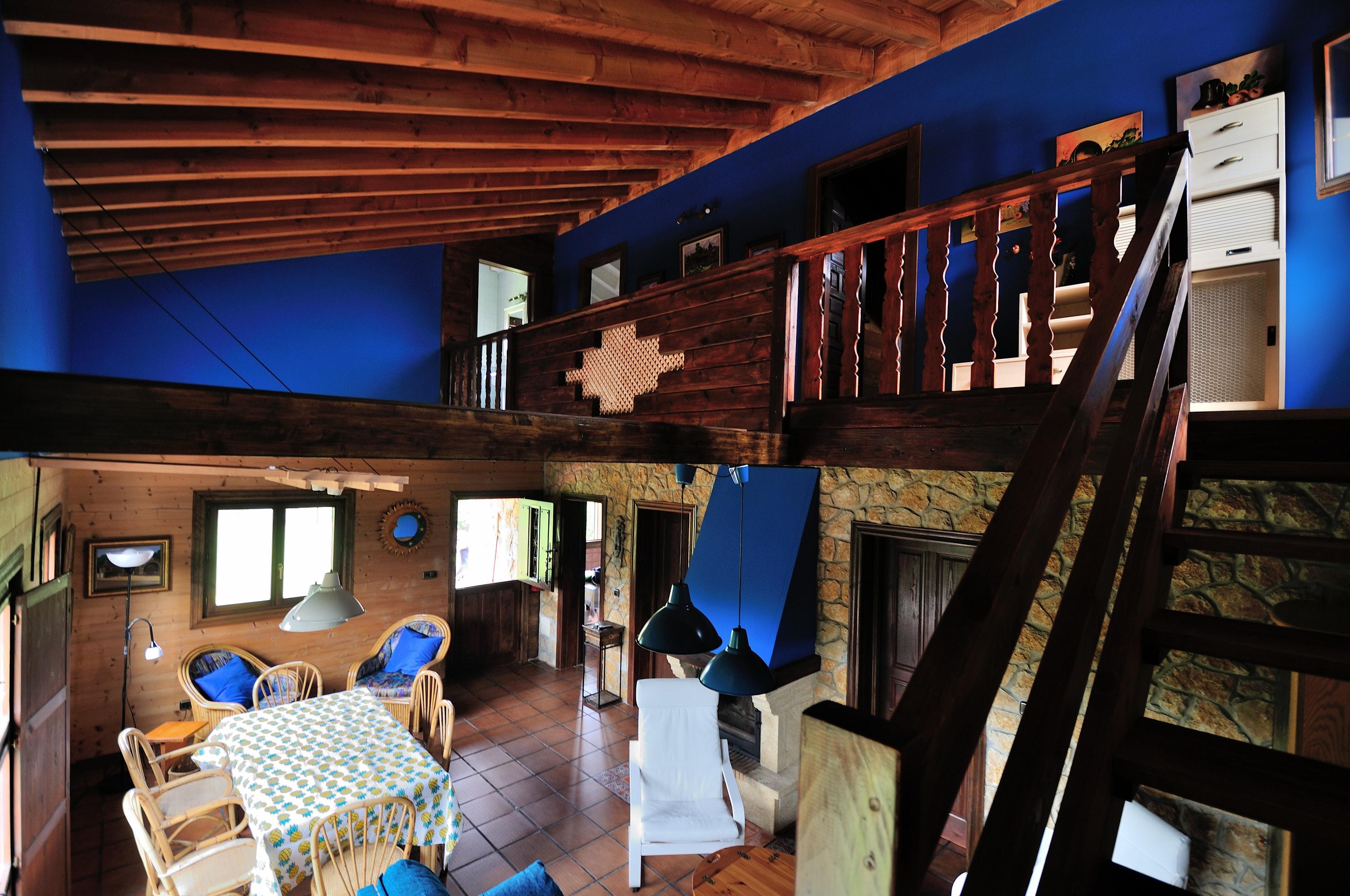 Ferienhaus Haus mit 3 Schlafzimmern in Albuerne mit eingezäuntem Garten - 6 km vom Strand entfernt (2208400), Albuerne, Costa Verde (ES), Asturien, Spanien, Bild 2