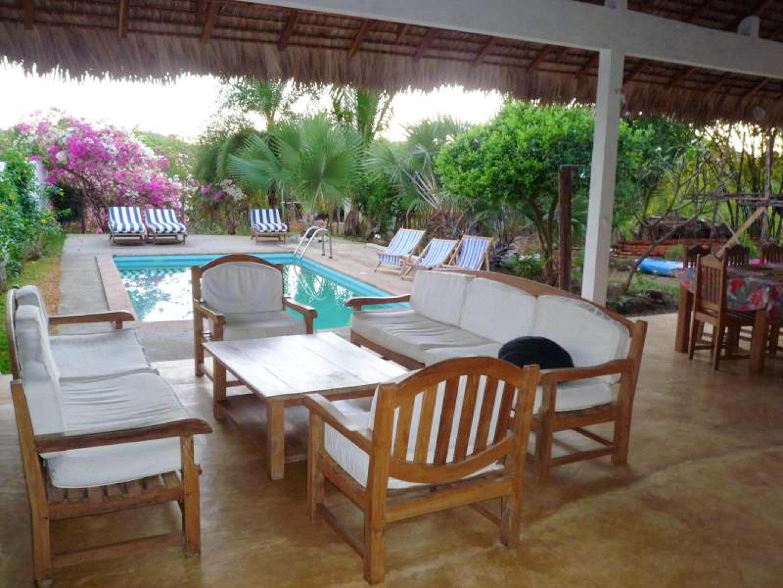 Bungalow mit 2 Schlafzimmern in Andilana mit herrlichem Meerblick, Pool und eingezäuntem Garten