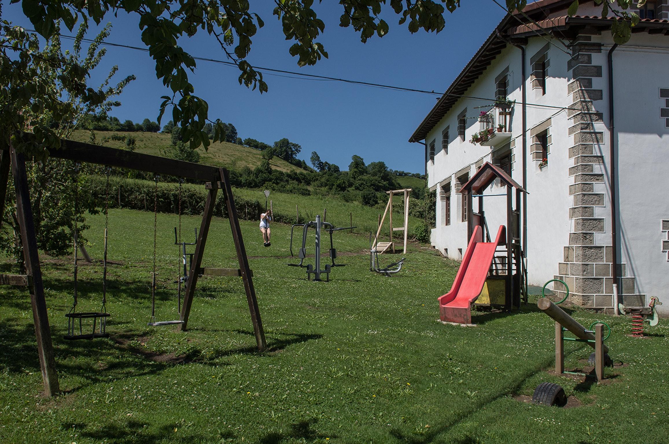 Ferienhaus Haus mit 5 Schlafzimmern in Baráibar mit toller Aussicht auf die Berge, möbliertem Garten  (2541138), Baraibar, , Navarra, Spanien, Bild 23