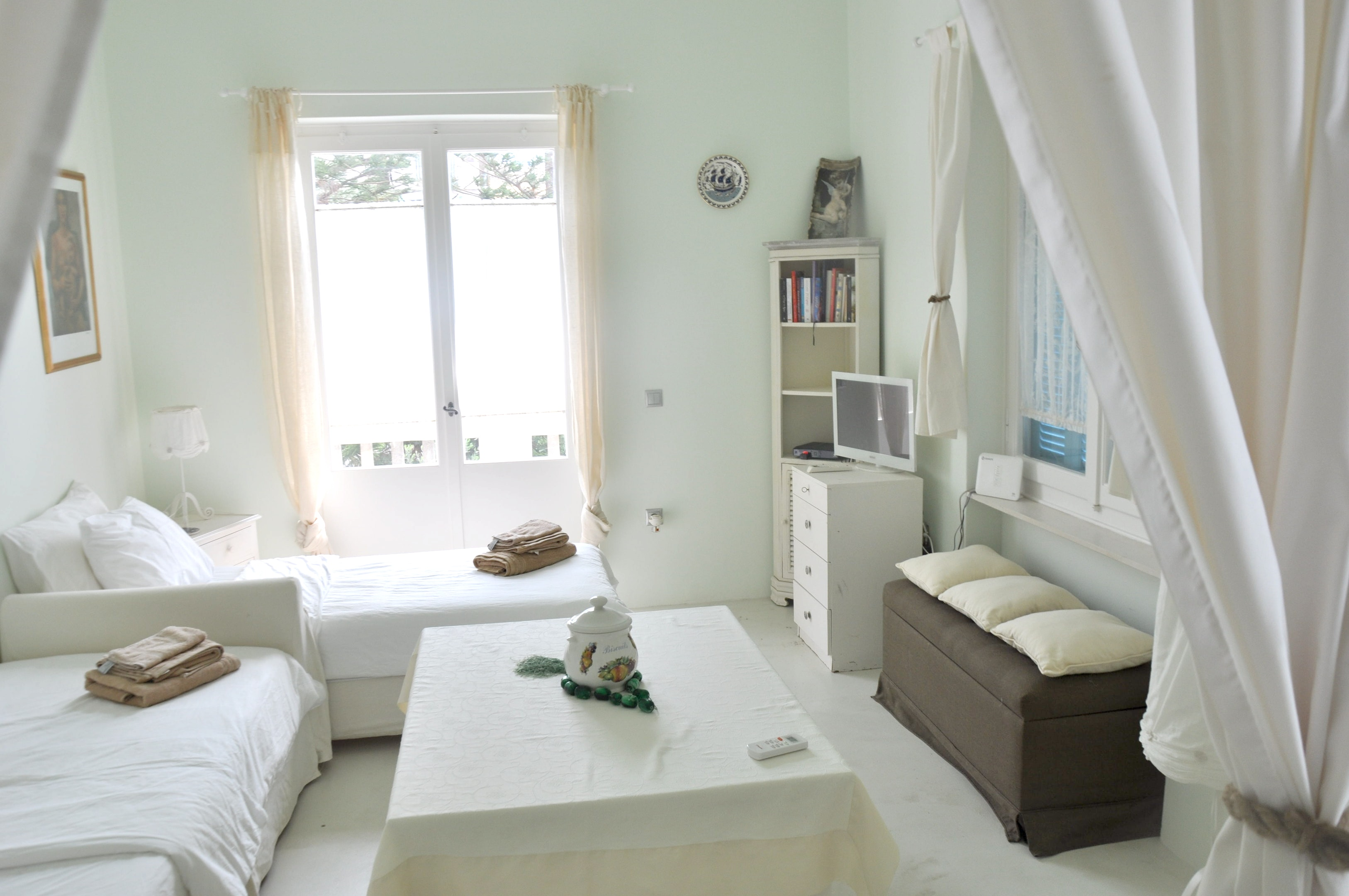 Ferienwohnung Wohnung mit 2 Schlafzimmern in Psathi mit herrlichem Meerblick und möblierter Terrasse - 7 (2201600), Kimolos, Kimolos, Kykladen, Griechenland, Bild 6