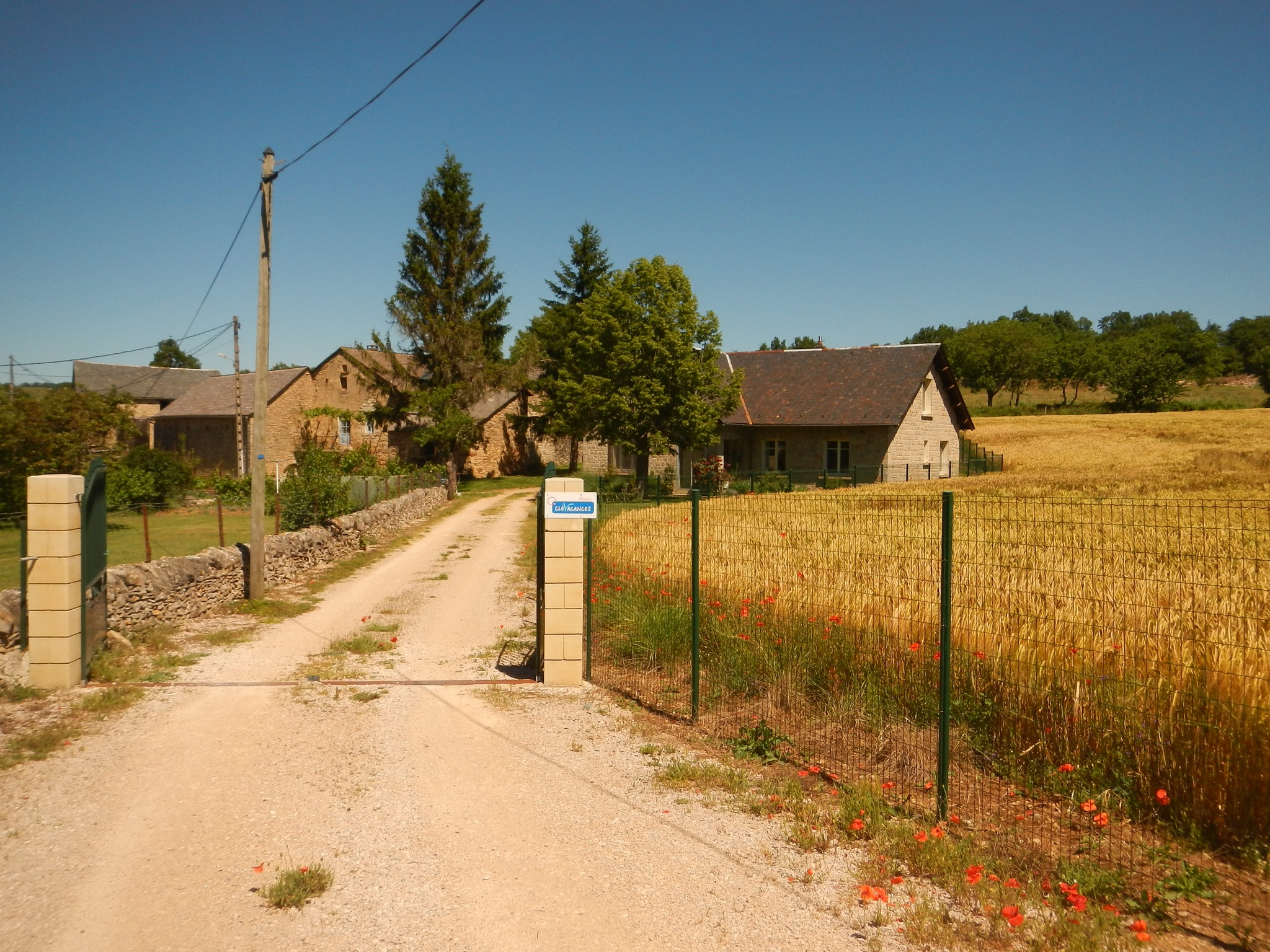 Ferienhaus Haus mit 6 Zimmern in Banassac mit toller Aussicht auf die Berge und eingezäuntem Garten - (2202056), Banassac, Lozère, Languedoc-Roussillon, Frankreich, Bild 2