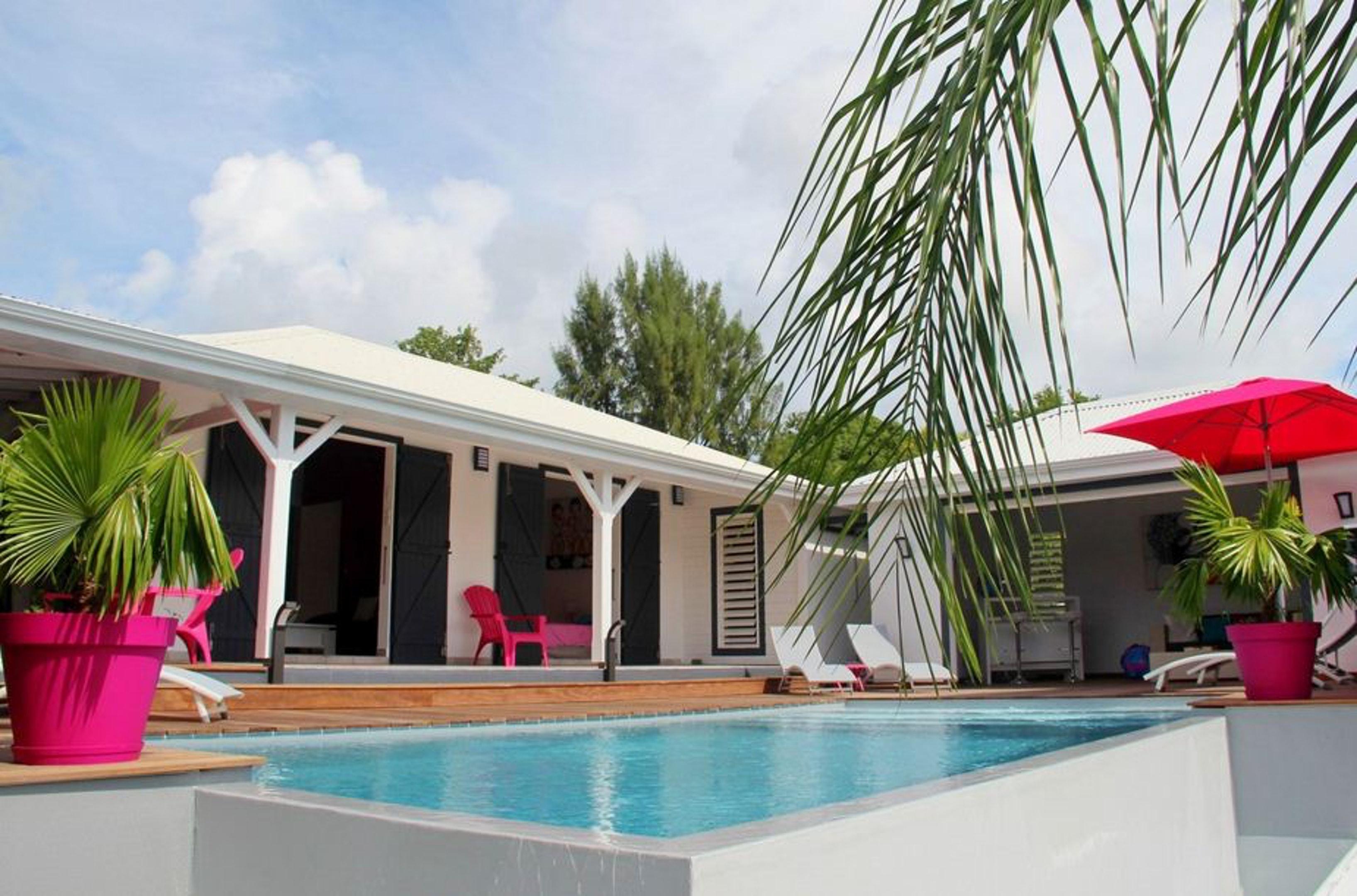 Villa mit 3 Schlafzimmern in Saint Francois mit pr Villa in Guadeloupe