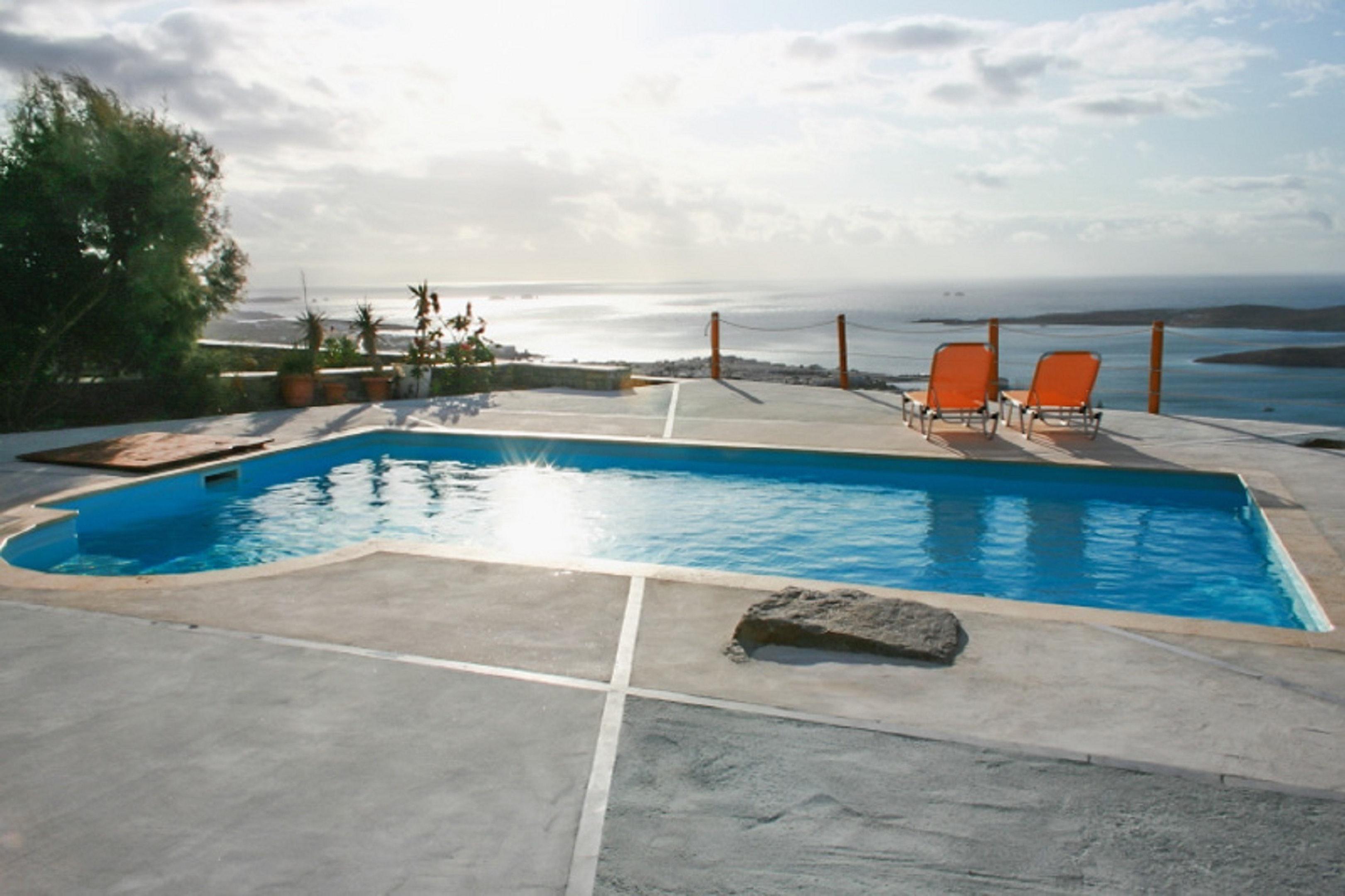 Holiday house Villa mit 3 Schlafzimmern in Paros mit herrlichem Meerblick, Pool und W-LAN - 1 km vom Str (2201537), Paros, Paros, Cyclades, Greece, picture 4