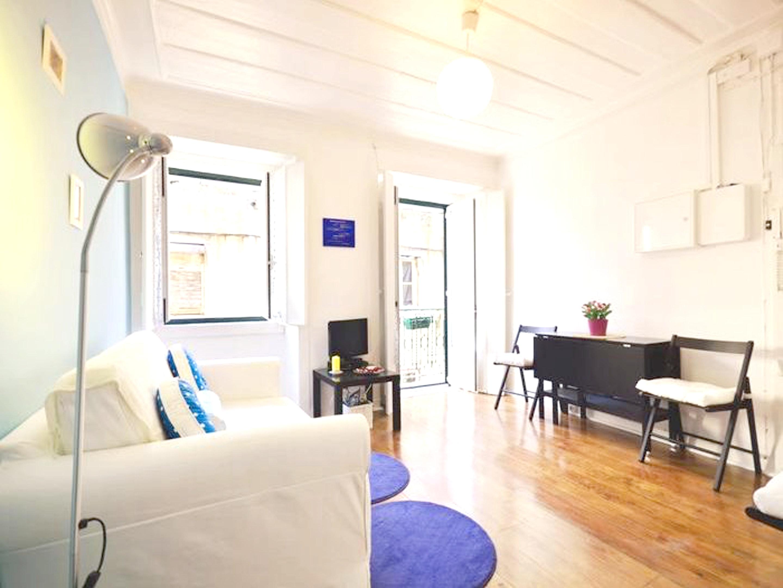 Wohnung mit einem Schlafzimmer in Lisboa mit W LAN 12 km vom Strand entfernt