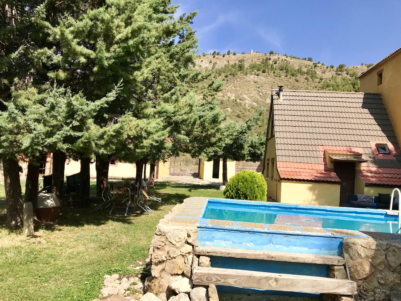 Maison de vacances Hütte mit 4 Schlafzimmern in Camarena de la Sierra mit toller Aussicht auf die Berge, priv (2474258), Camarena de la Sierra, Teruel, Aragon, Espagne, image 14