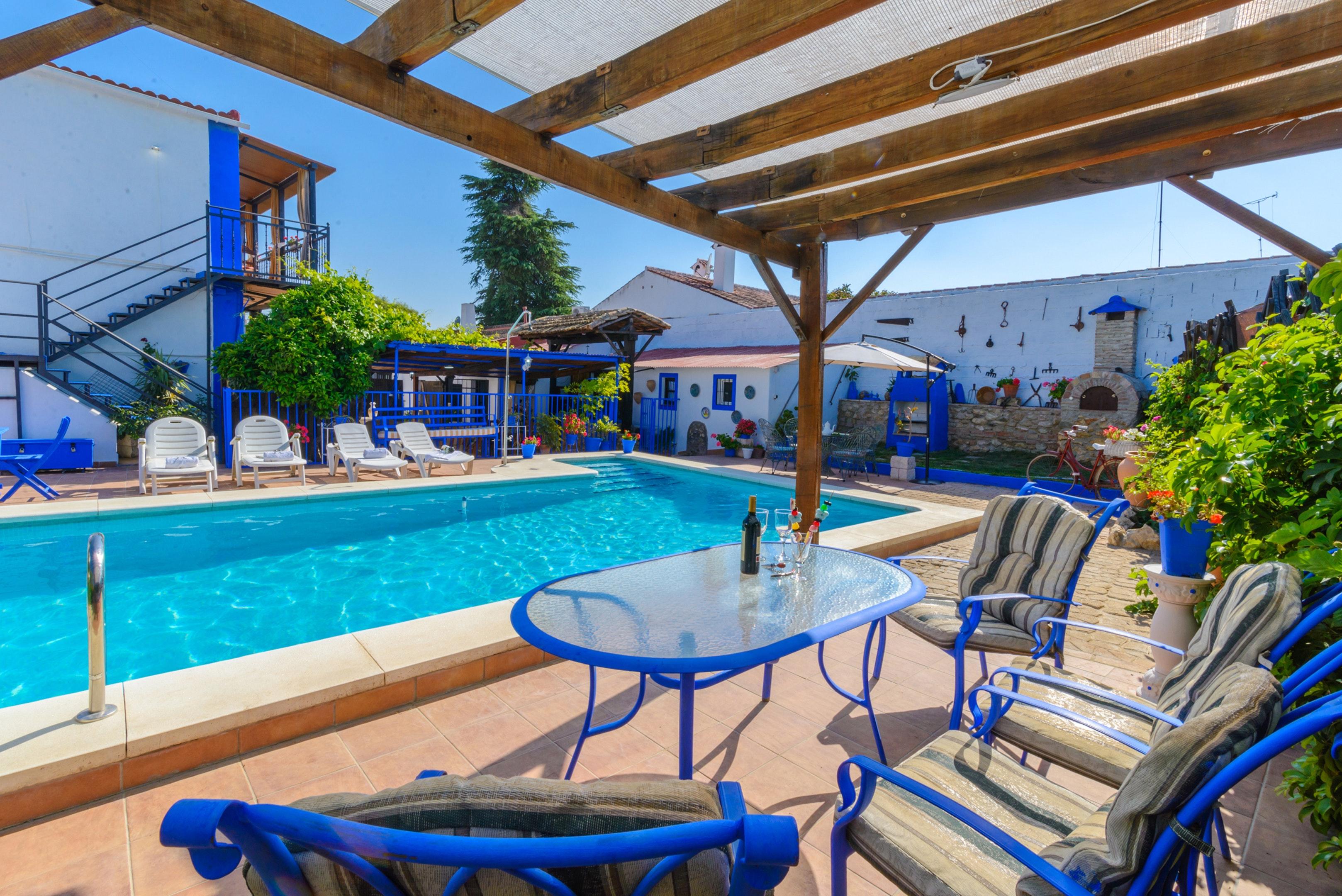 Ferienhaus Villa mit 3 Schlafzimmern in Peñaflor mit privatem Pool, eingezäuntem Garten und W-LAN (2208249), Peñaflor, Sevilla, Andalusien, Spanien, Bild 36