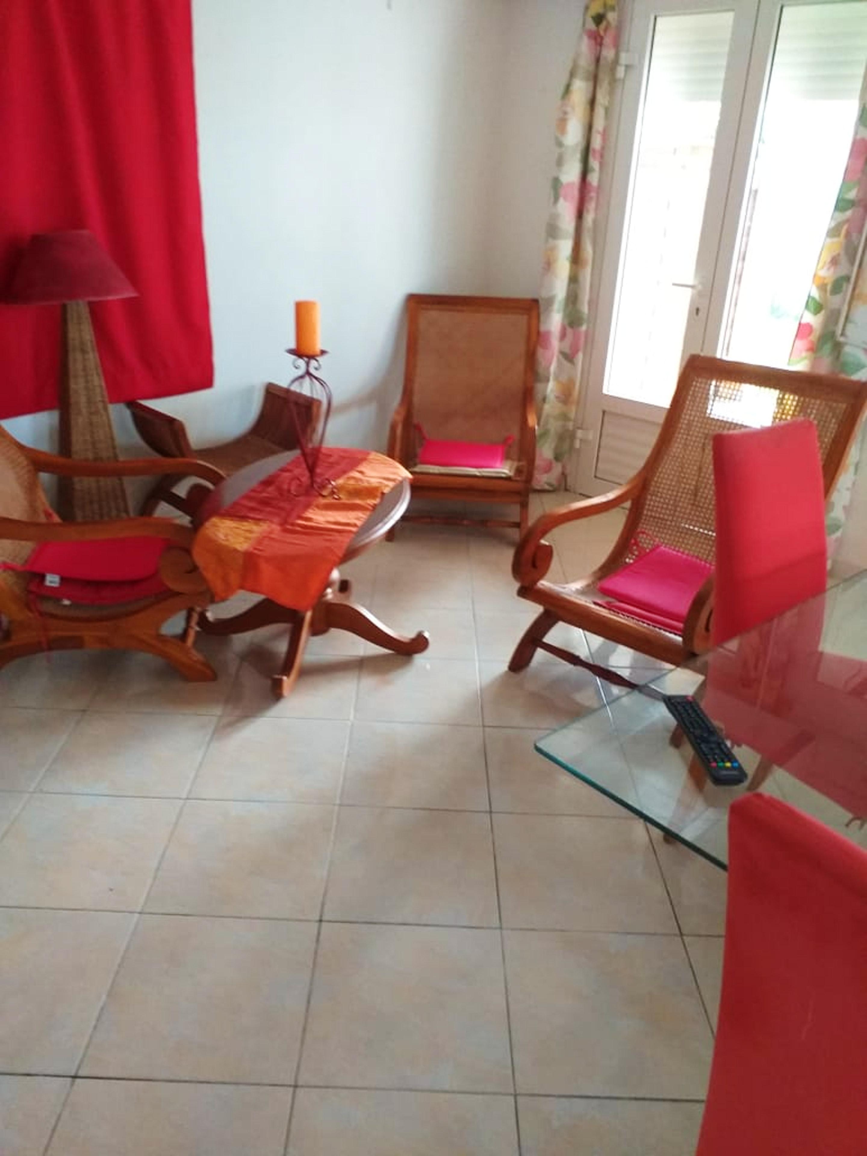 Studio in Goyave mit schöner Aussicht auf die Ferienwohnung in Guadeloupe