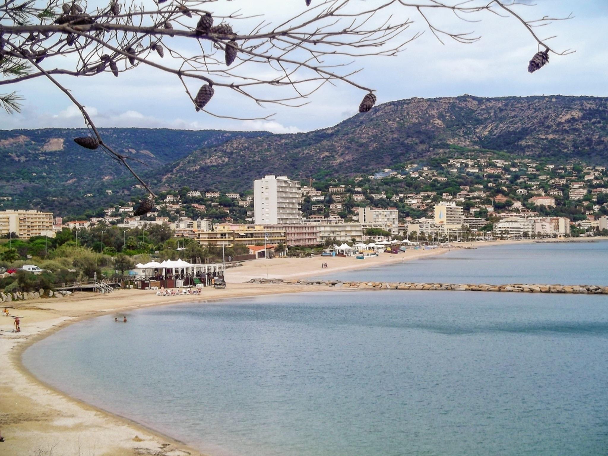Holiday apartment Helle Zweizimmerwohnung mit Meerblick und Balkon - 50 m vom Strand in Le Lavandou entfernt (2201212), Le Lavandou, Côte d'Azur, Provence - Alps - Côte d'Azur, France, picture 14