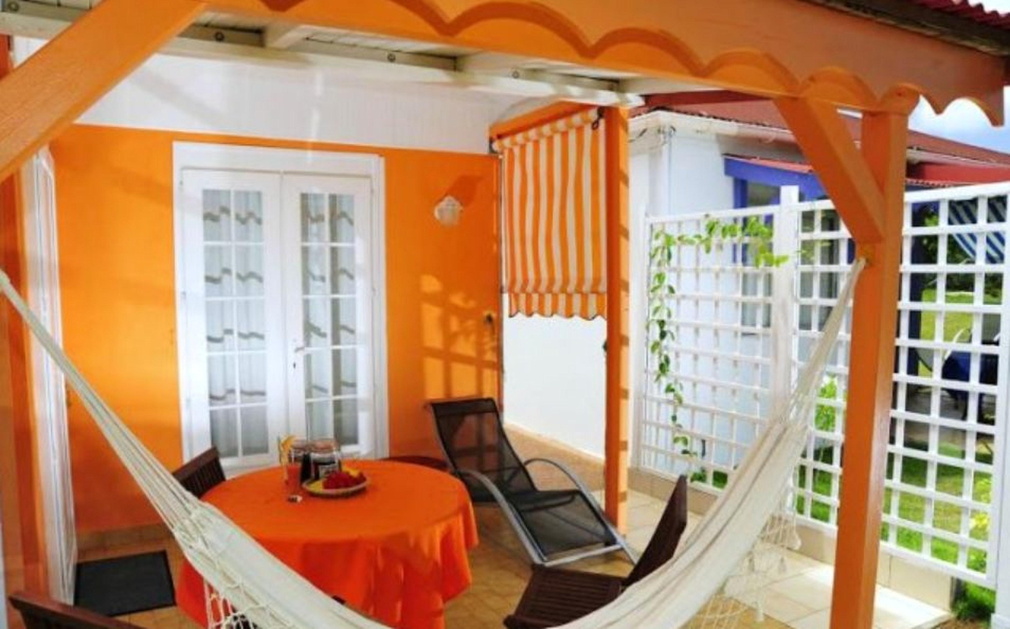 Hütte mit 3 Schlafzimmern in Saint-Francois m Ferienhaus in Guadeloupe